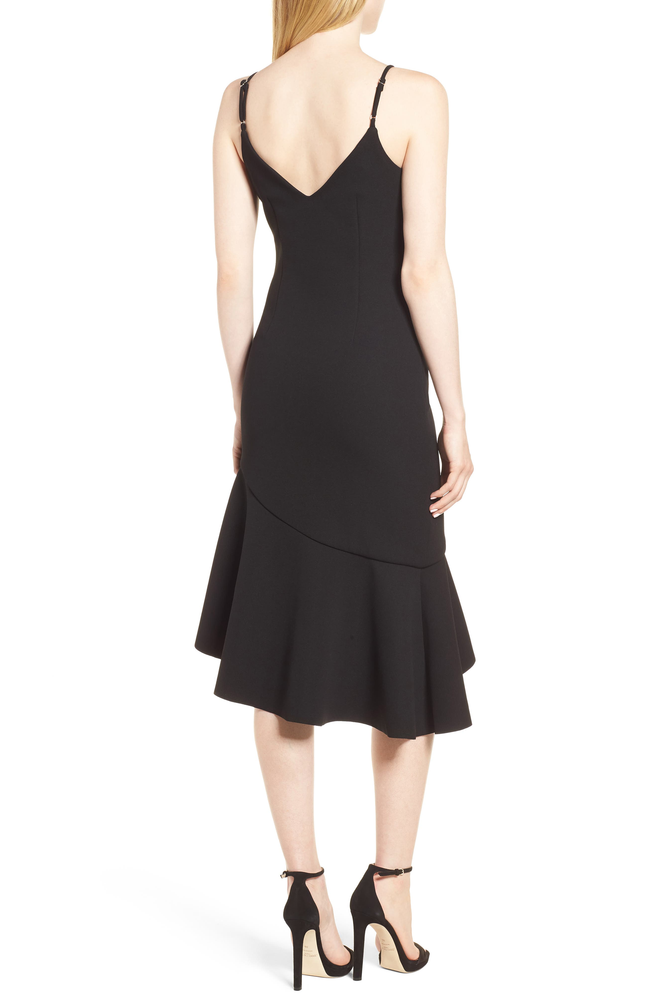 Artemis Dress,                             Alternate thumbnail 2, color,                             Black