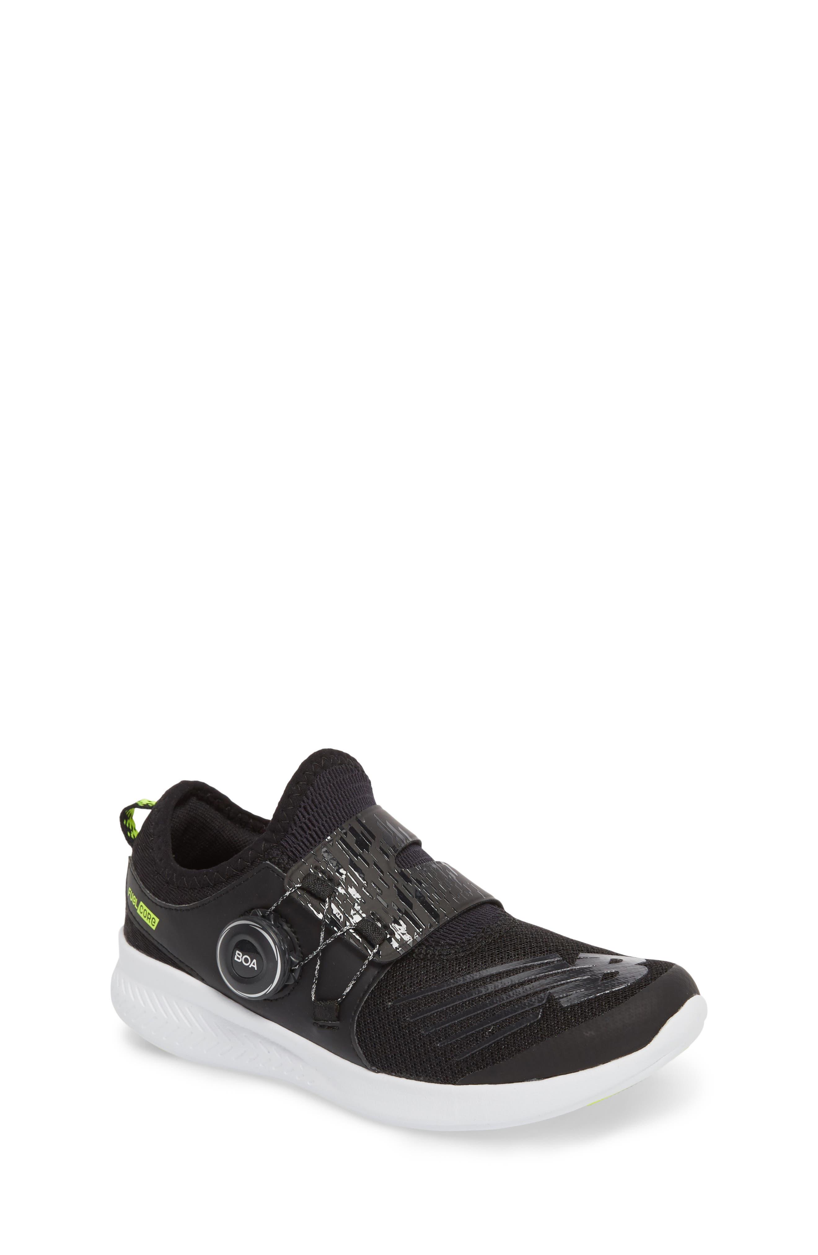 BKO Running Shoe,                         Main,                         color, Black/ Hi Lite