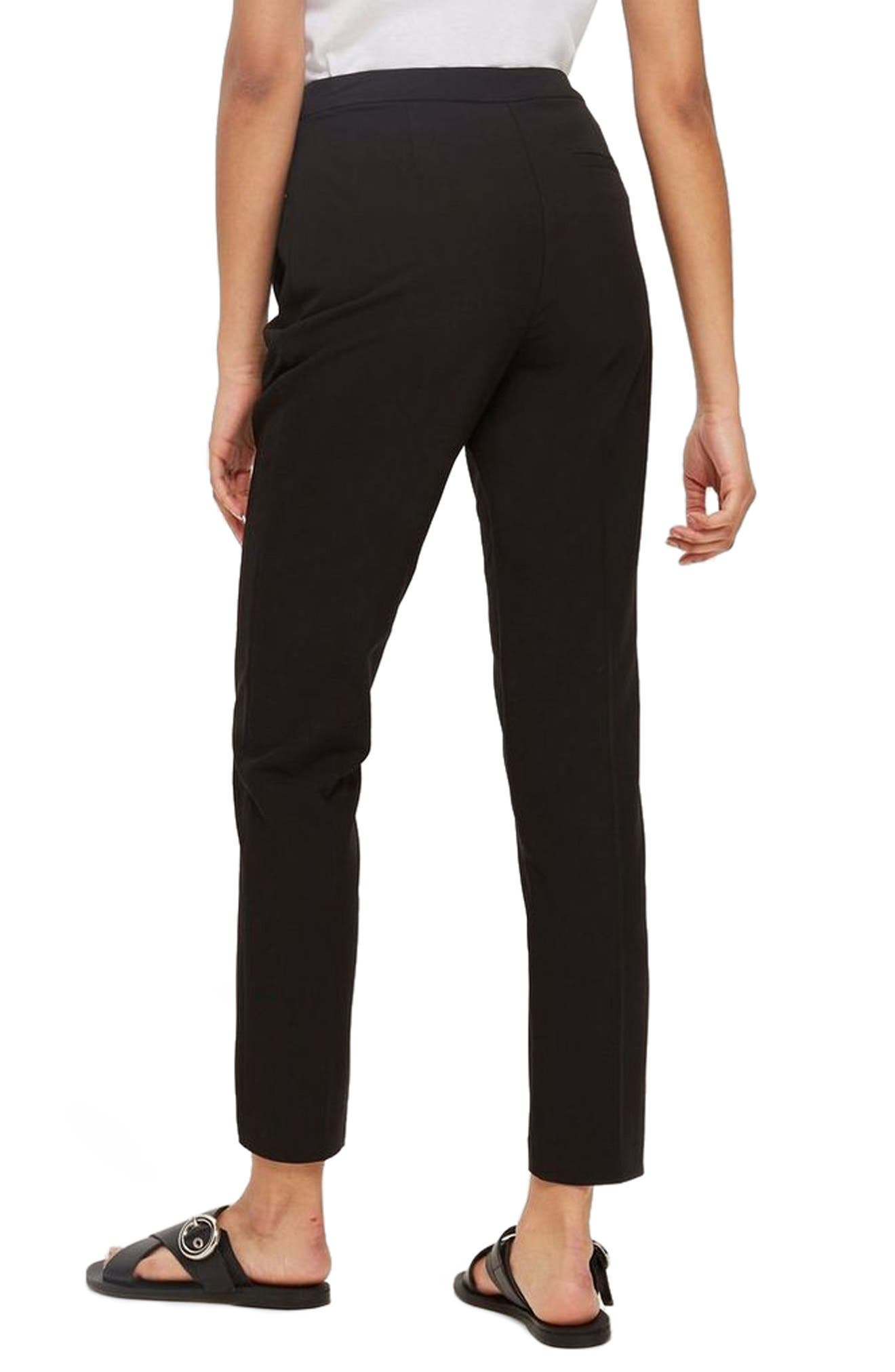 Alternate Image 3  - Topshop High Waist Cigarette Trousers