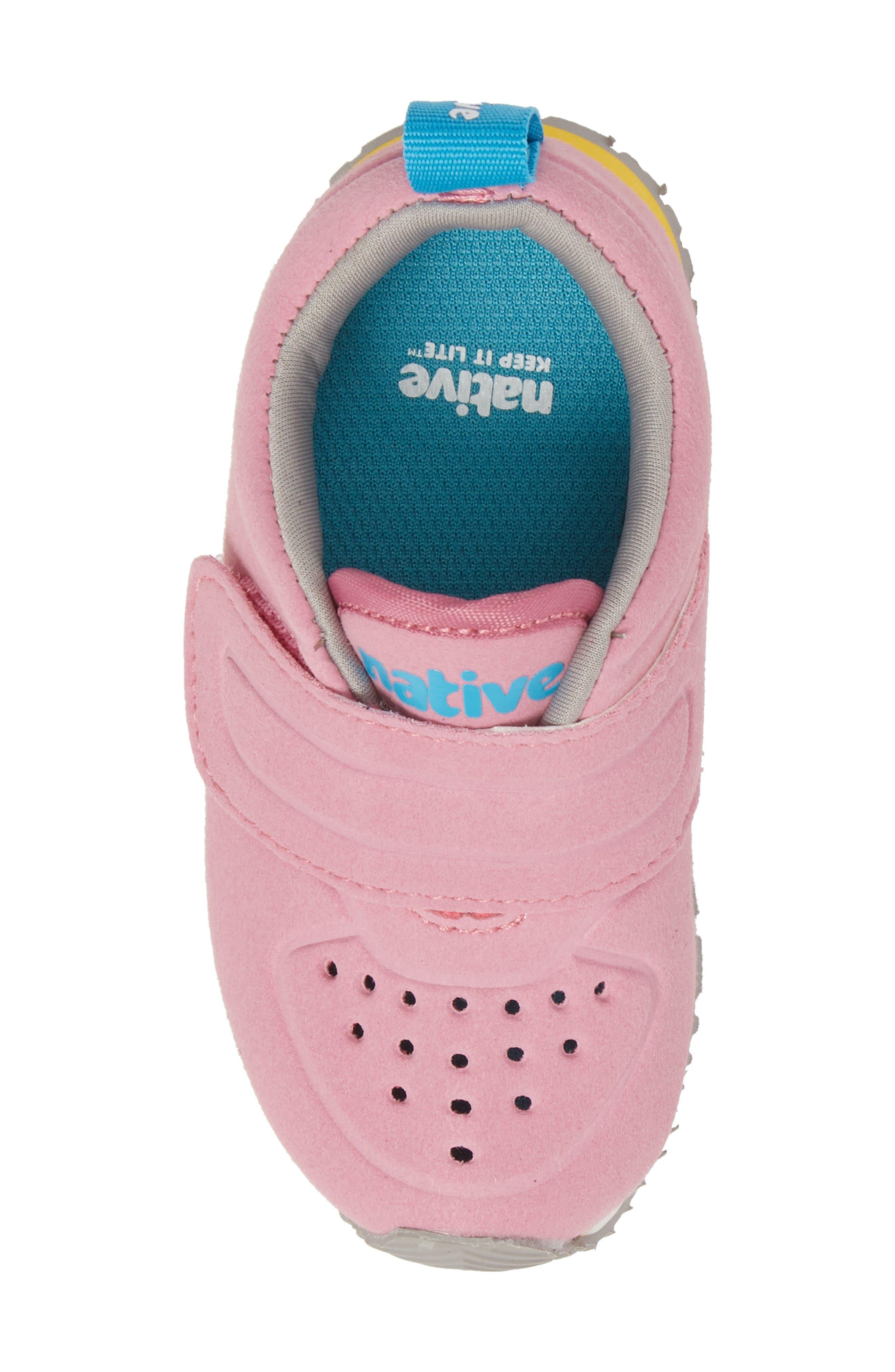 Native Cornell Perforated Sneaker,                             Alternate thumbnail 5, color,                             Malibu Pink/ White/ Blue
