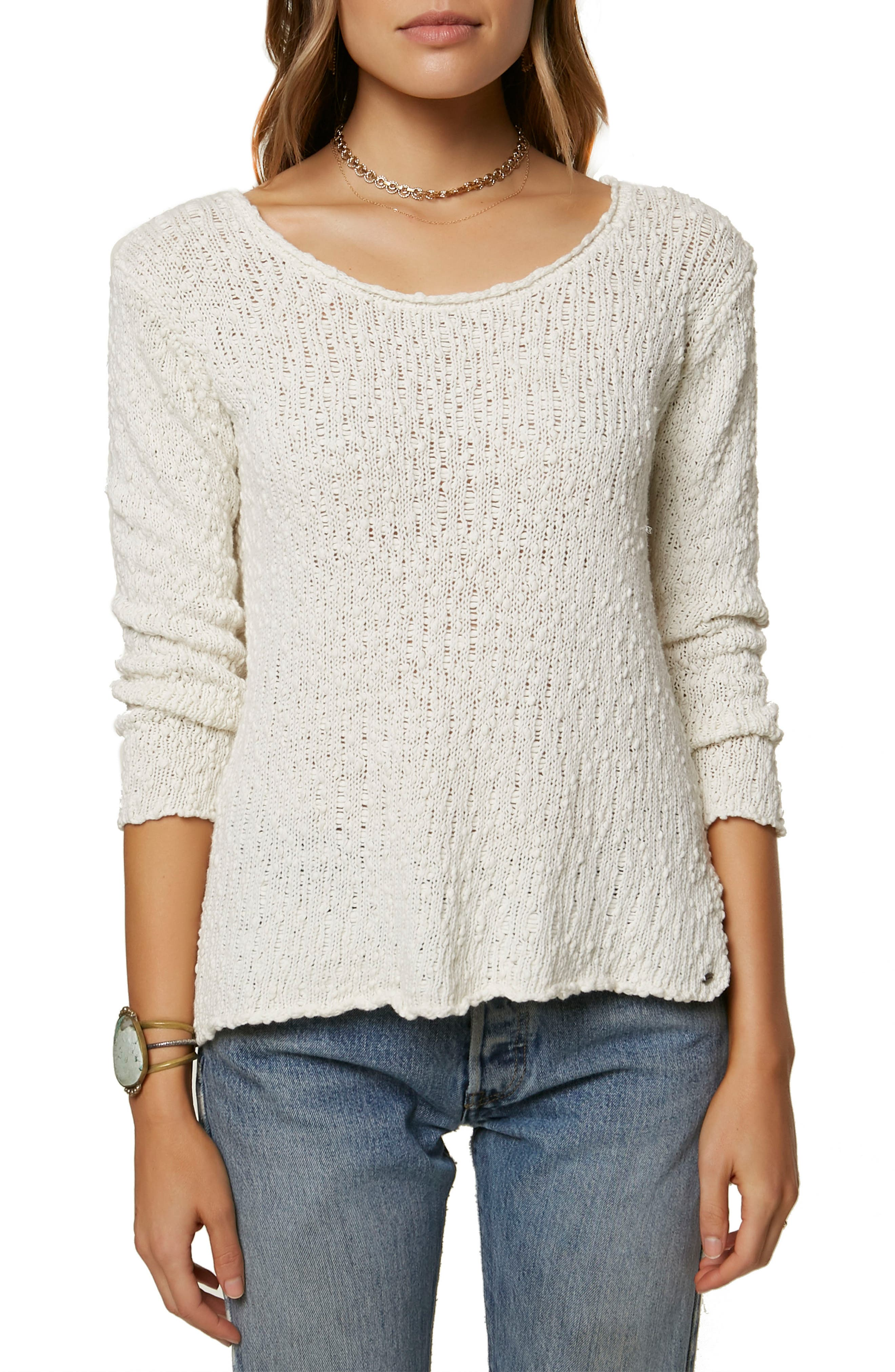 Rocha Pullover Sweater,                             Main thumbnail 1, color,                             Naked