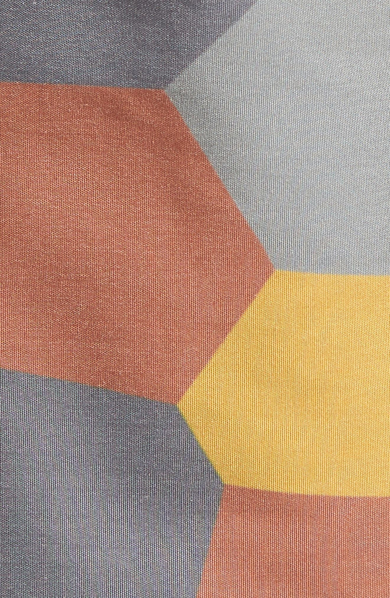 Belmont Pool Shorts,                             Alternate thumbnail 5, color,                             Coastal Orange Geo Camo