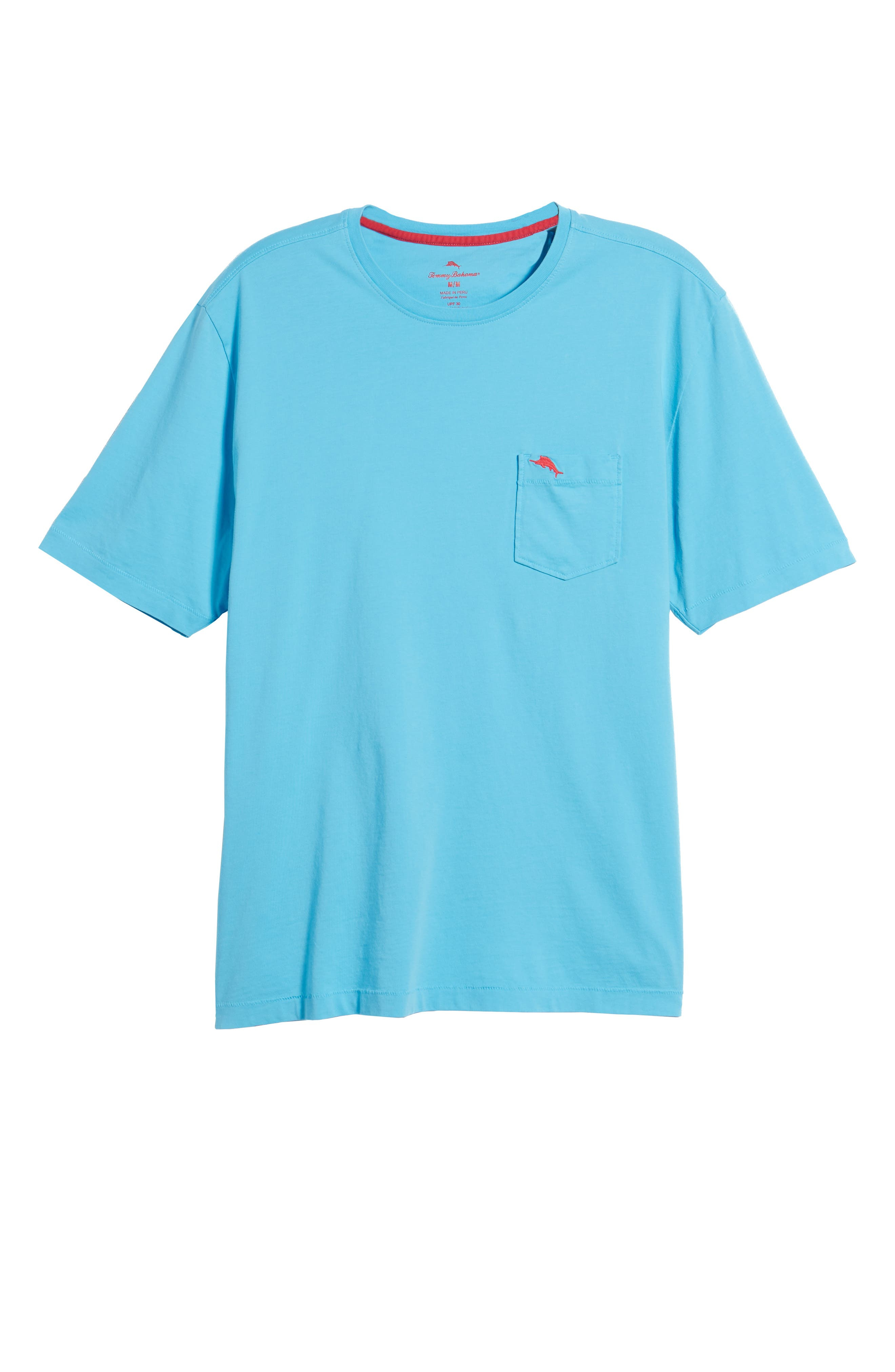 Bali Skyline T-Shirt,                             Alternate thumbnail 6, color,                             Breeze Blue