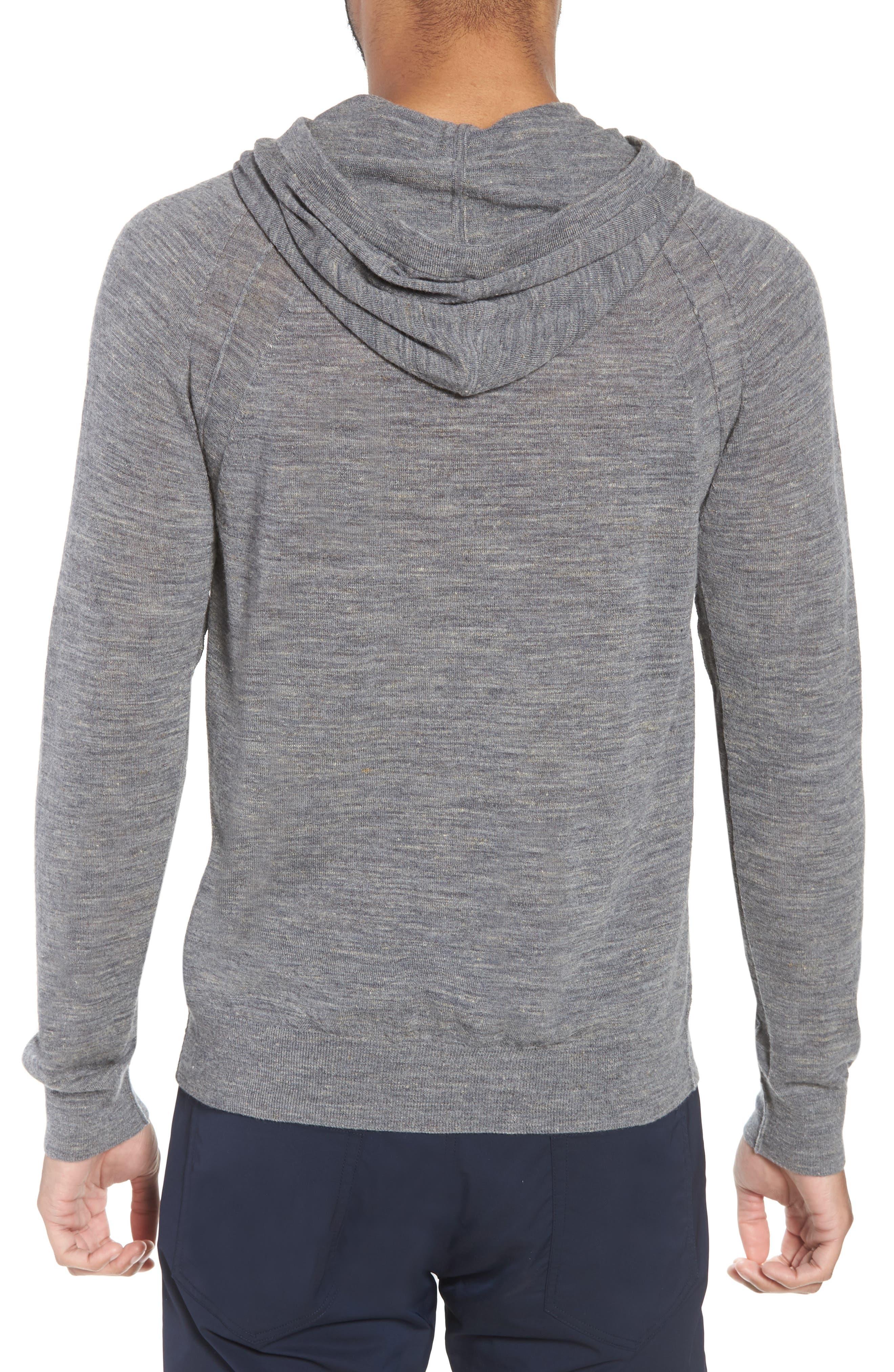 Long Sleeve Pullover Hoodie,                             Alternate thumbnail 2, color,                             Smoke