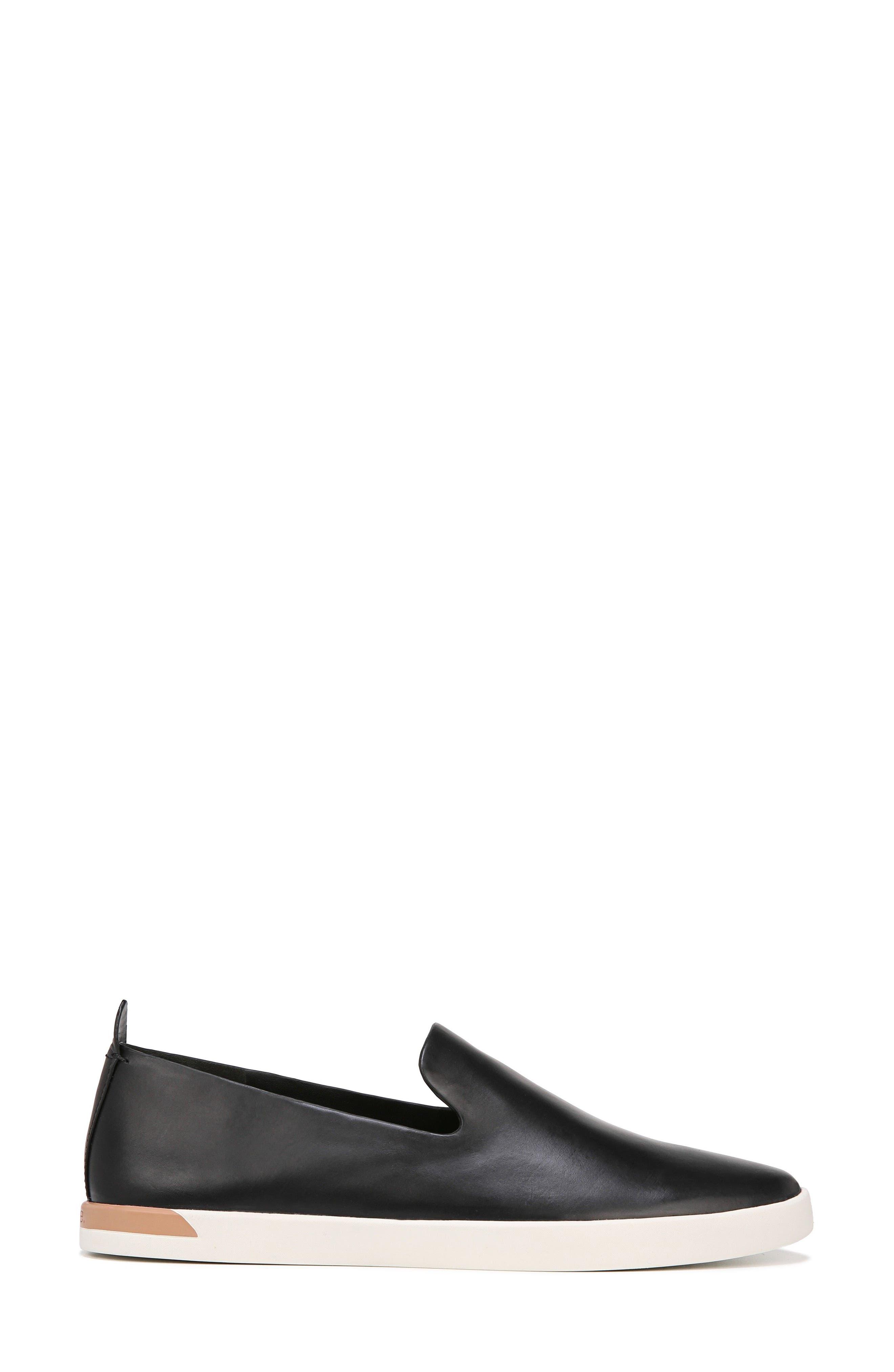 Vero Sneaker,                             Alternate thumbnail 3, color,                             Black Leather