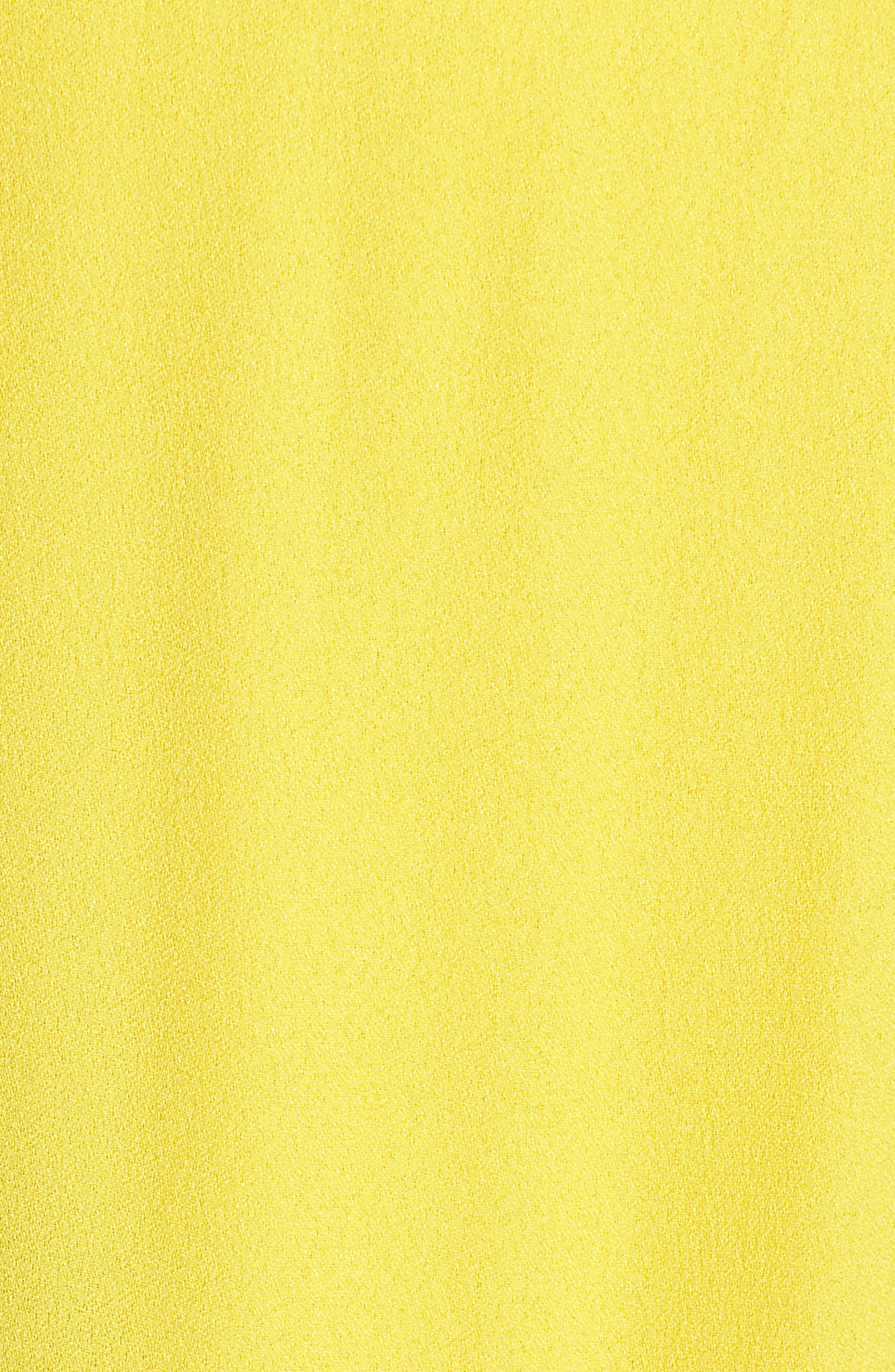 Rain Maxi Dress,                             Alternate thumbnail 6, color,                             Gold