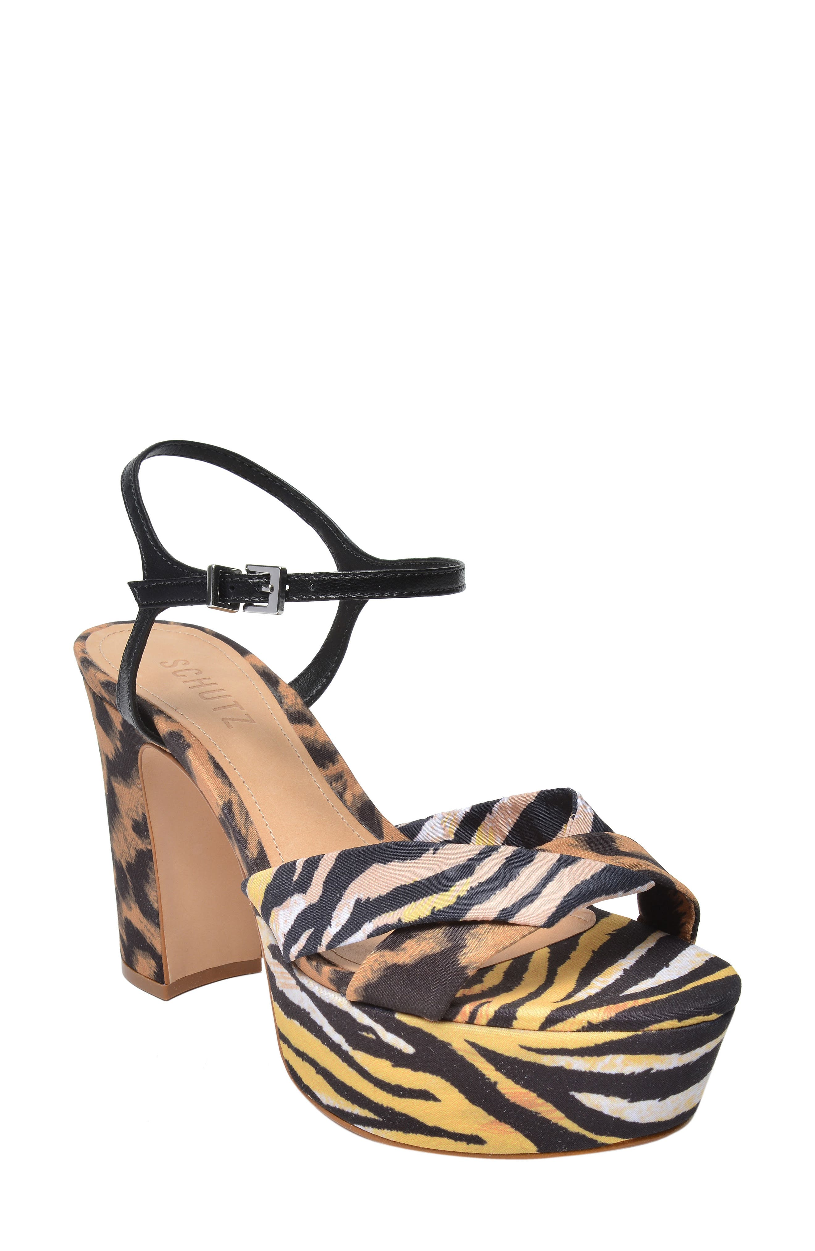 Schutz x Adriana Lima Publia Platform Sandal
