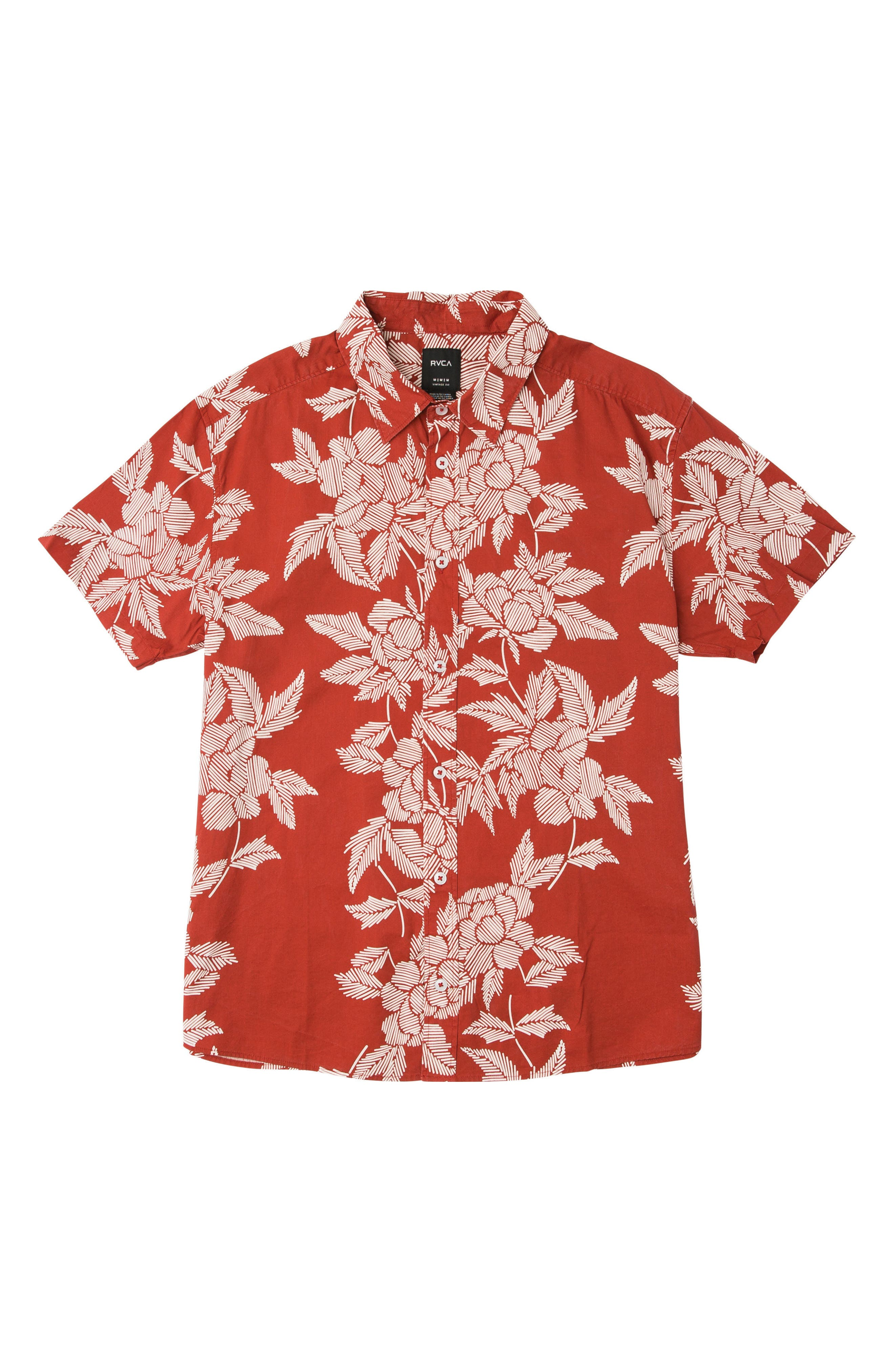 Bora Floral Woven Shirt,                             Main thumbnail 1, color,                             Baked Apple