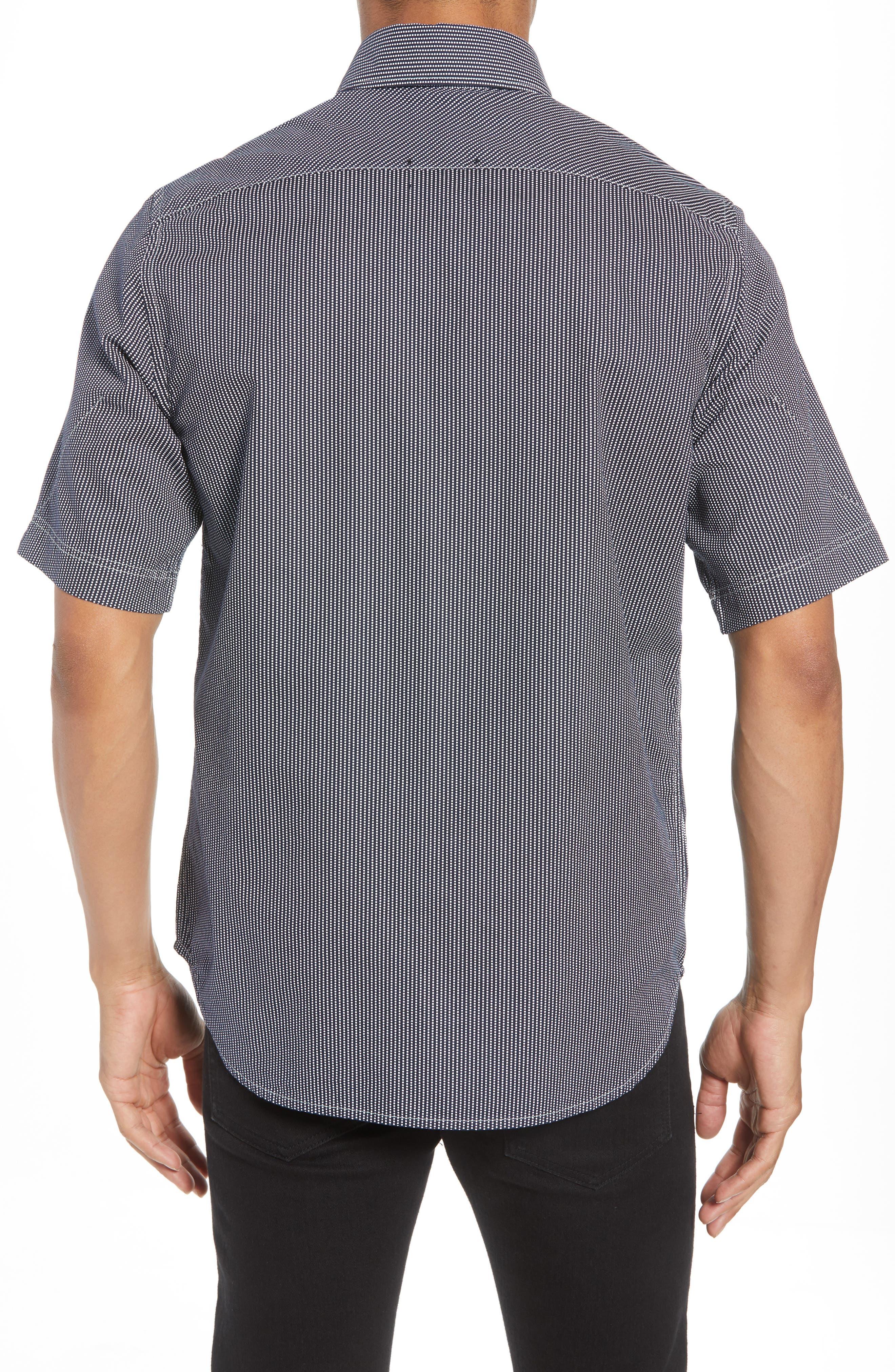 Bristum Straight Ref Shirt,                             Alternate thumbnail 2, color,                             Sartho Blue/ Milk