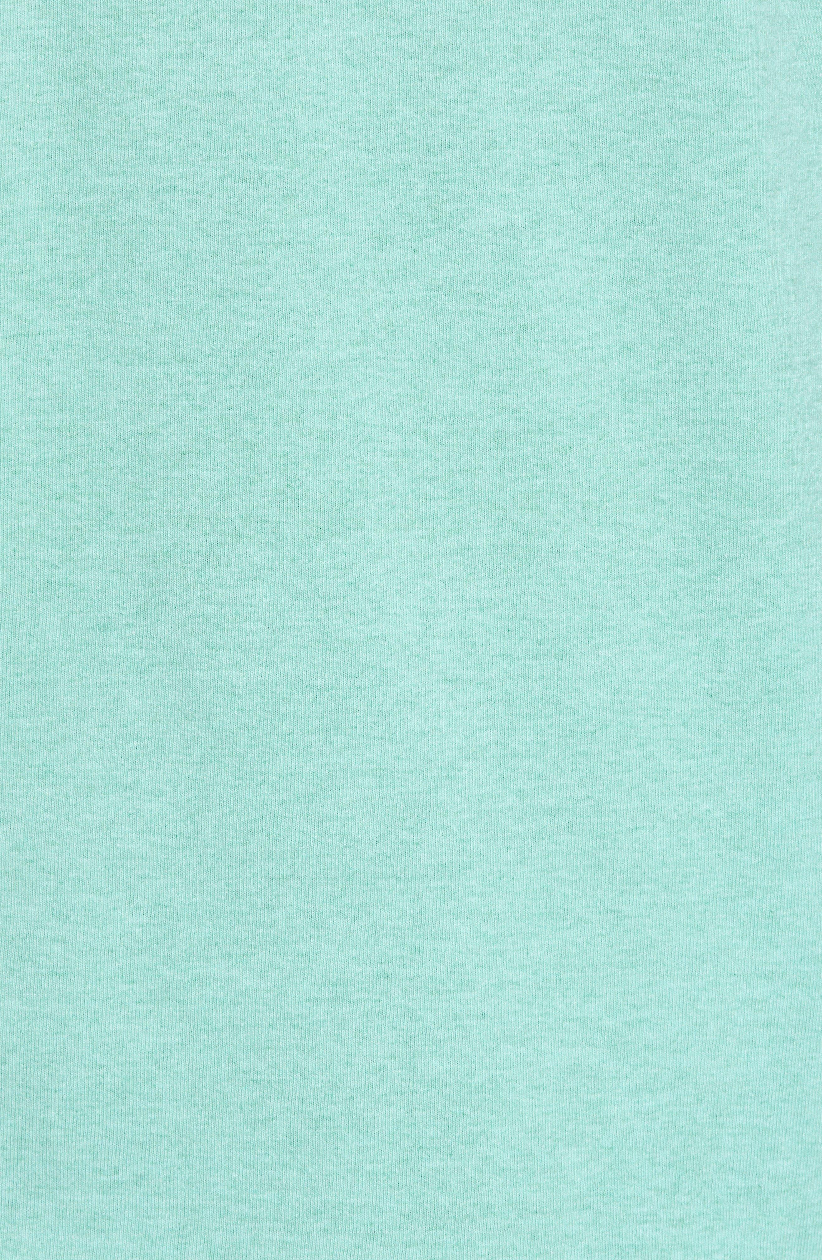 Fitz Roy Trout Crewneck T-Shirt,                             Alternate thumbnail 7, color,                             Bend Blue