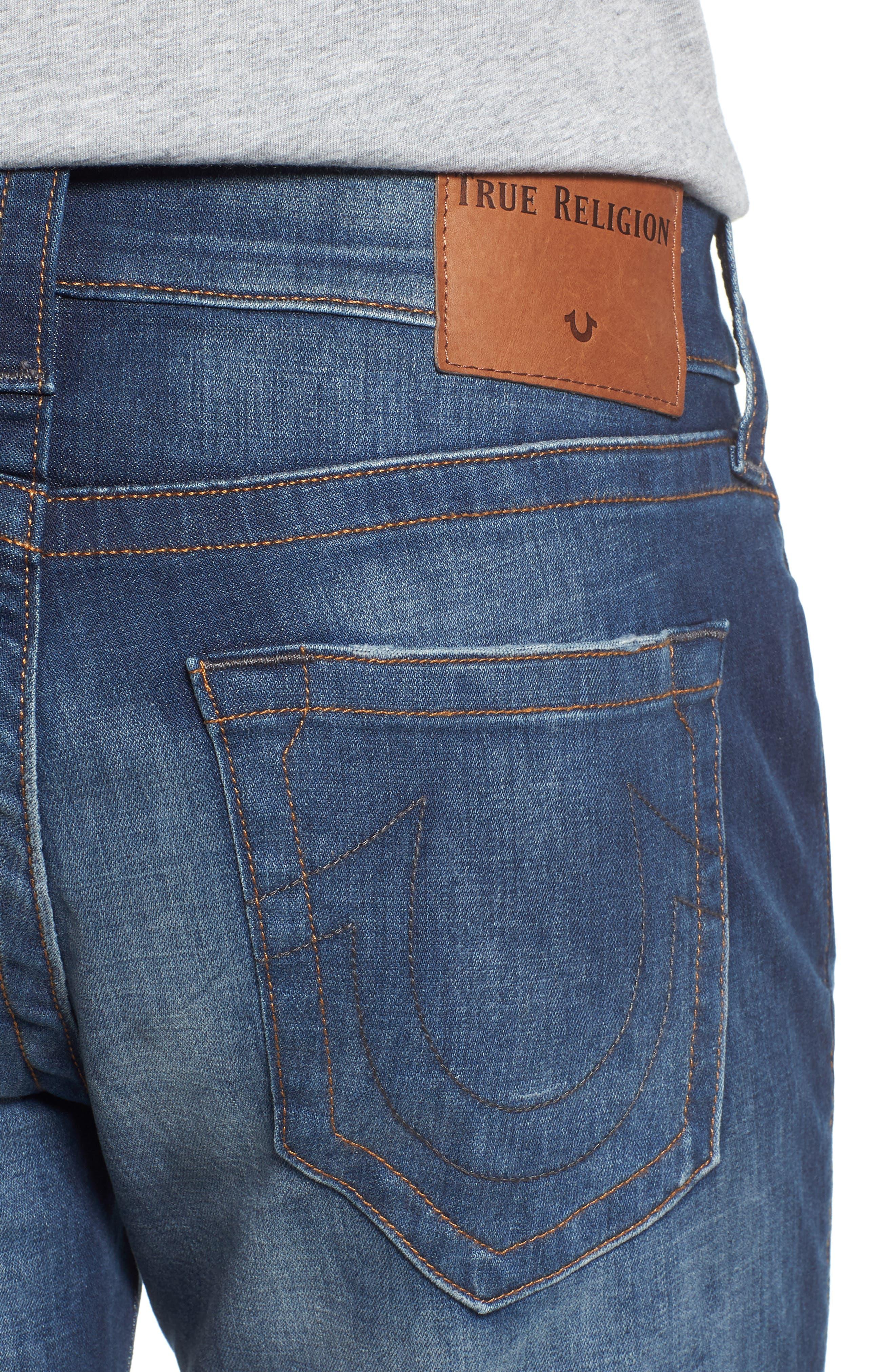 Geno Straight Leg Jeans,                             Alternate thumbnail 4, color,                             Suspect
