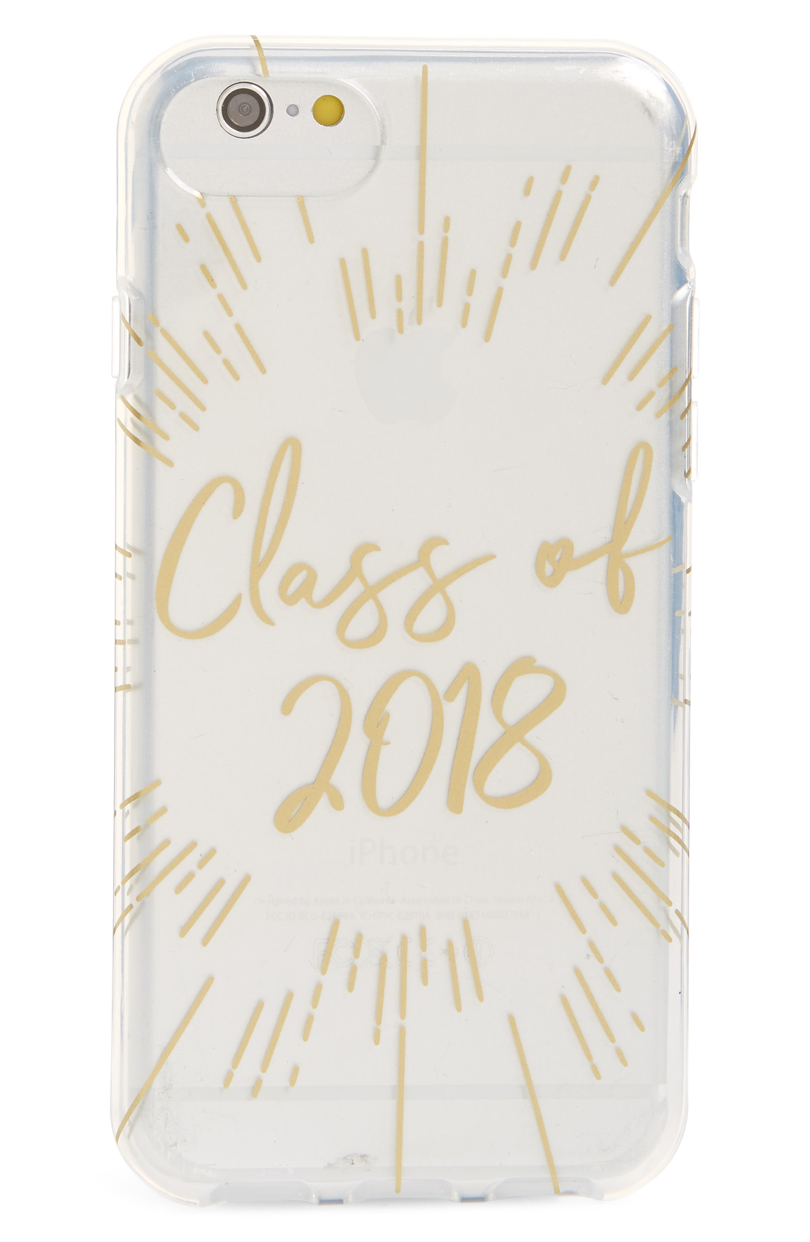 Class of 2018 iPhone 7/8 & 7/8 Plus Case,                             Main thumbnail 1, color,                             Miscellaneous