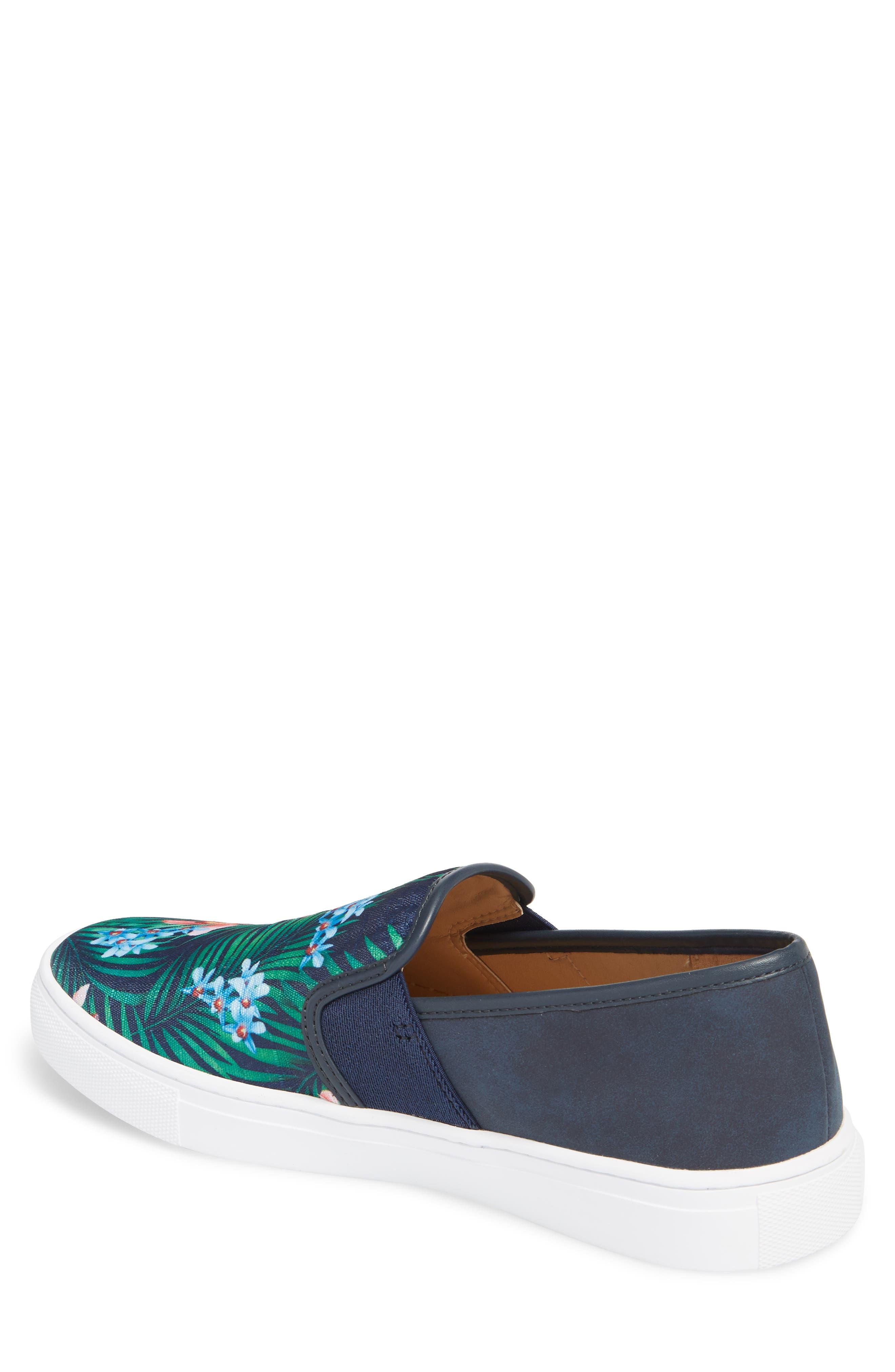 Fish 'N' Chips Bali Slip-On Sneaker,                             Alternate thumbnail 2, color,                             Navy Multi Fabric