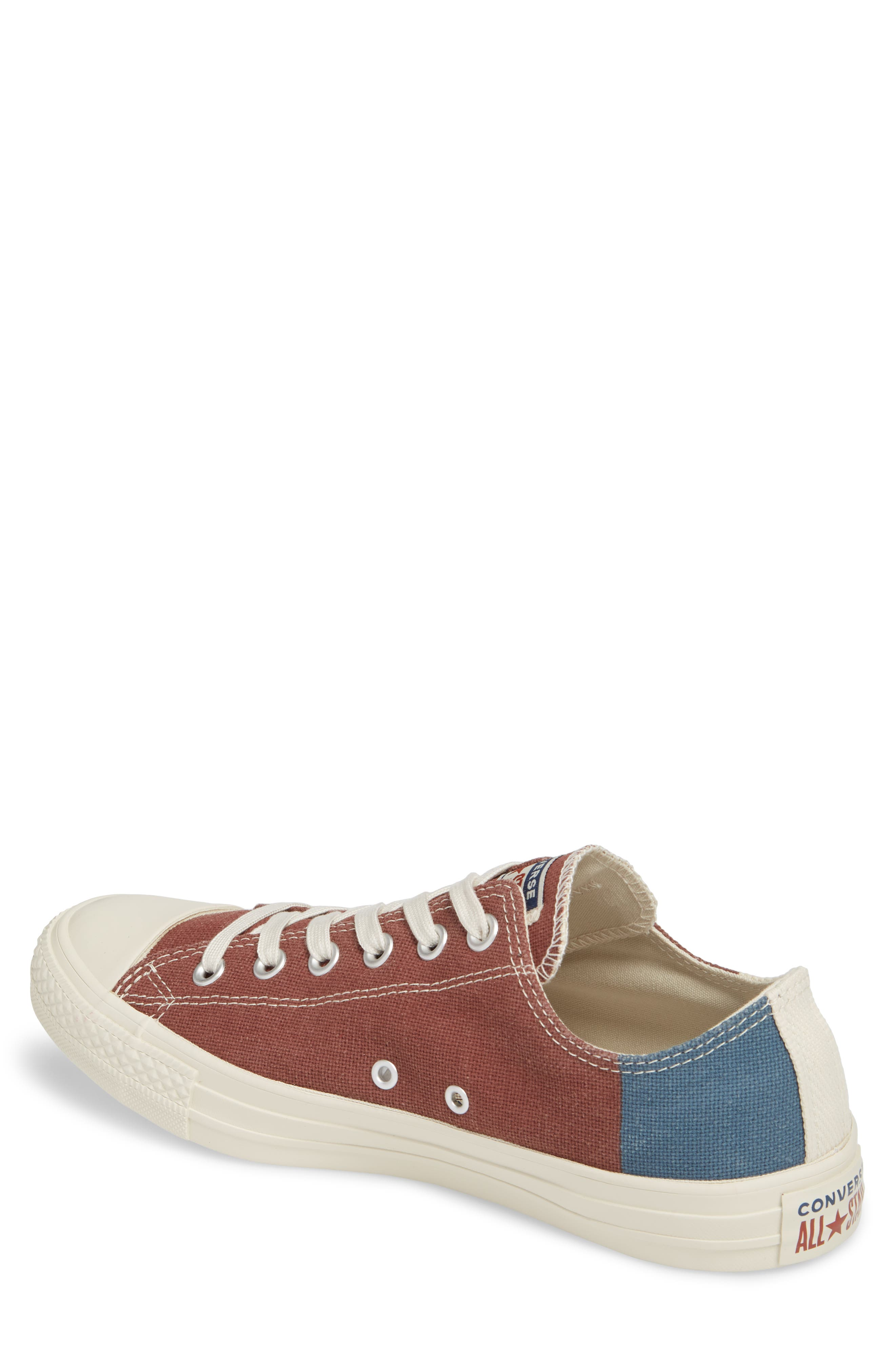 Chuck Taylor<sup>®</sup> All Star<sup>®</sup> Jute Americana Low Top Sneaker,                             Alternate thumbnail 2, color,                             Aegean Storm