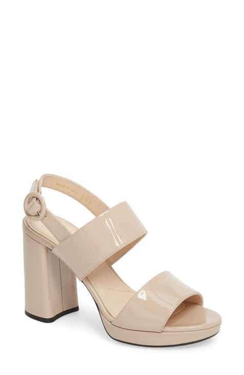 42613f54eed Prada Slingback Platform Sandal (Women) (Nordstrom Exclusive)