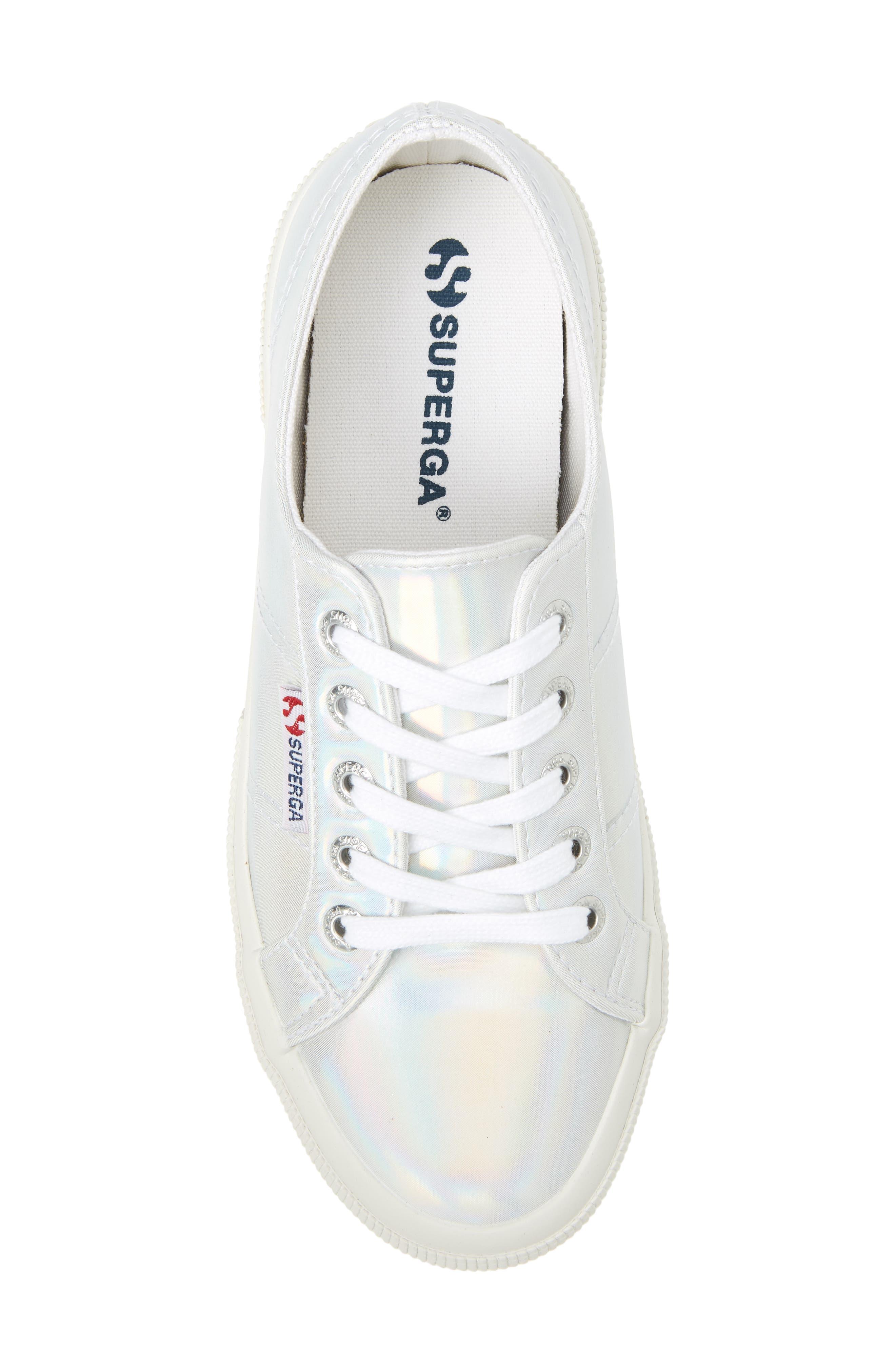 2750 Hologramw Low Top Sneaker,                             Alternate thumbnail 5, color,                             Iridescent