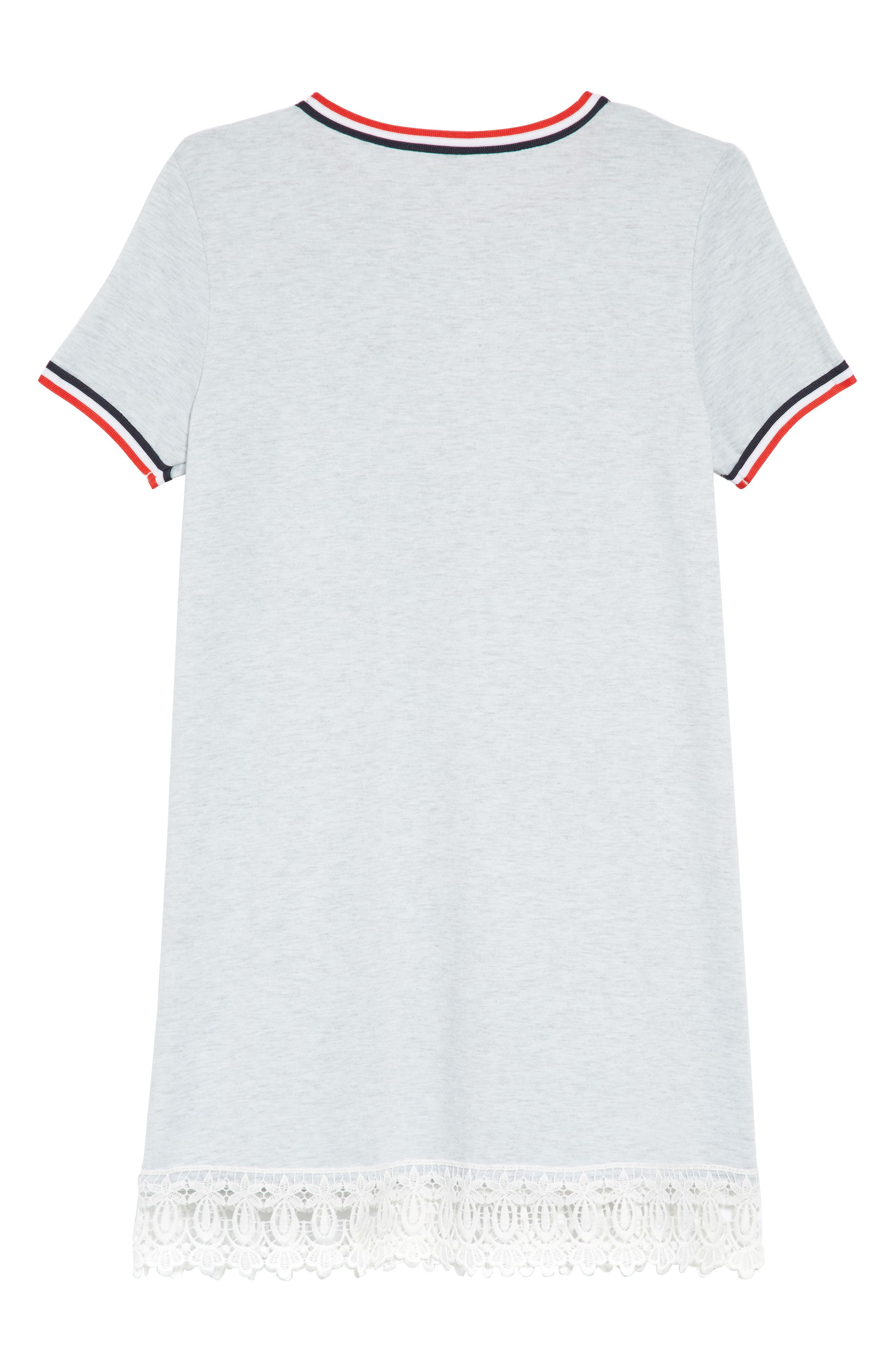 Athleisure Dress,                             Alternate thumbnail 2, color,                             Grey