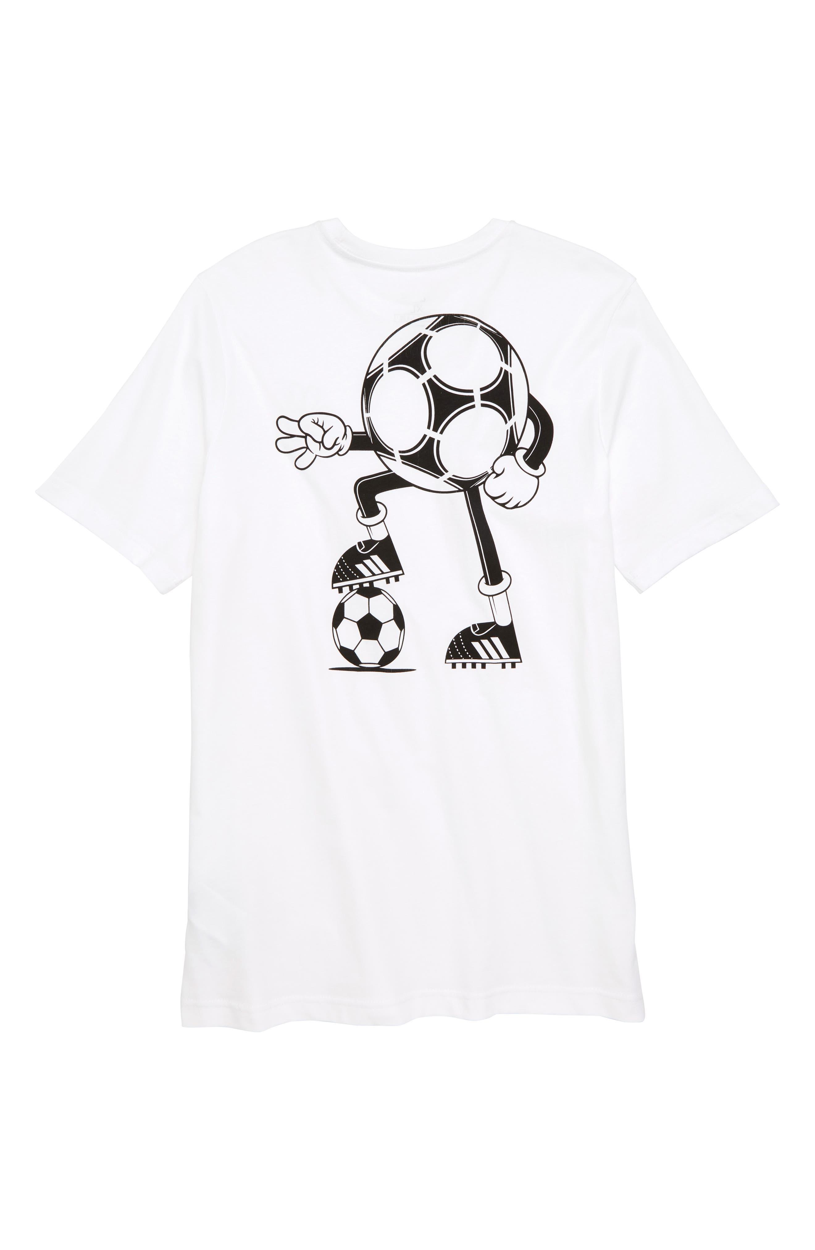 2018 FIFA World Cup Mascot T-Shirt,                             Alternate thumbnail 2, color,                             White