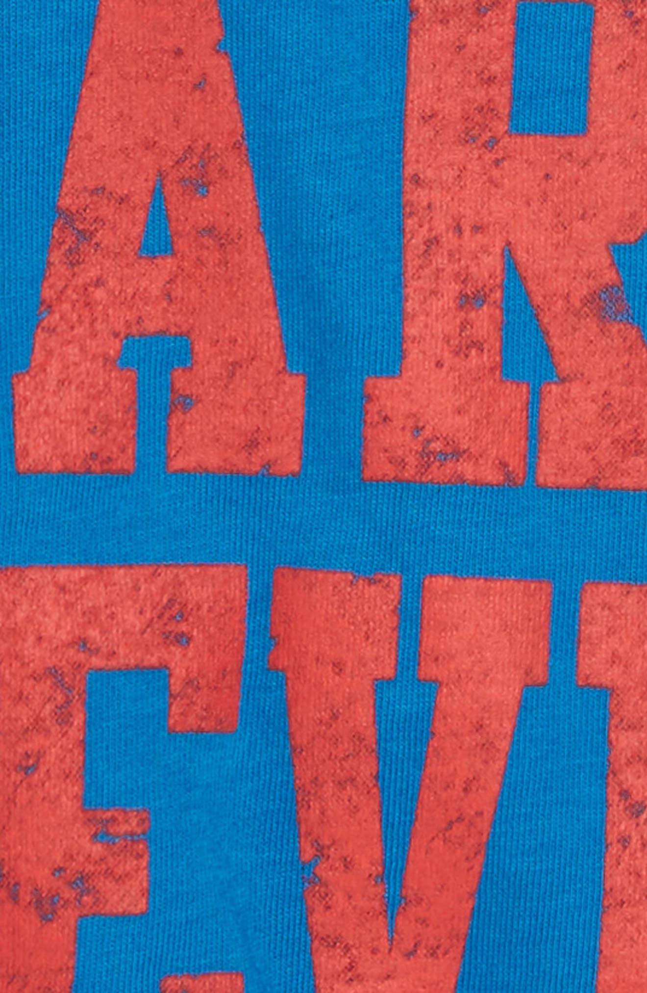 Dare Devil T-Shirt,                             Alternate thumbnail 2, color,                             Cancun Blue