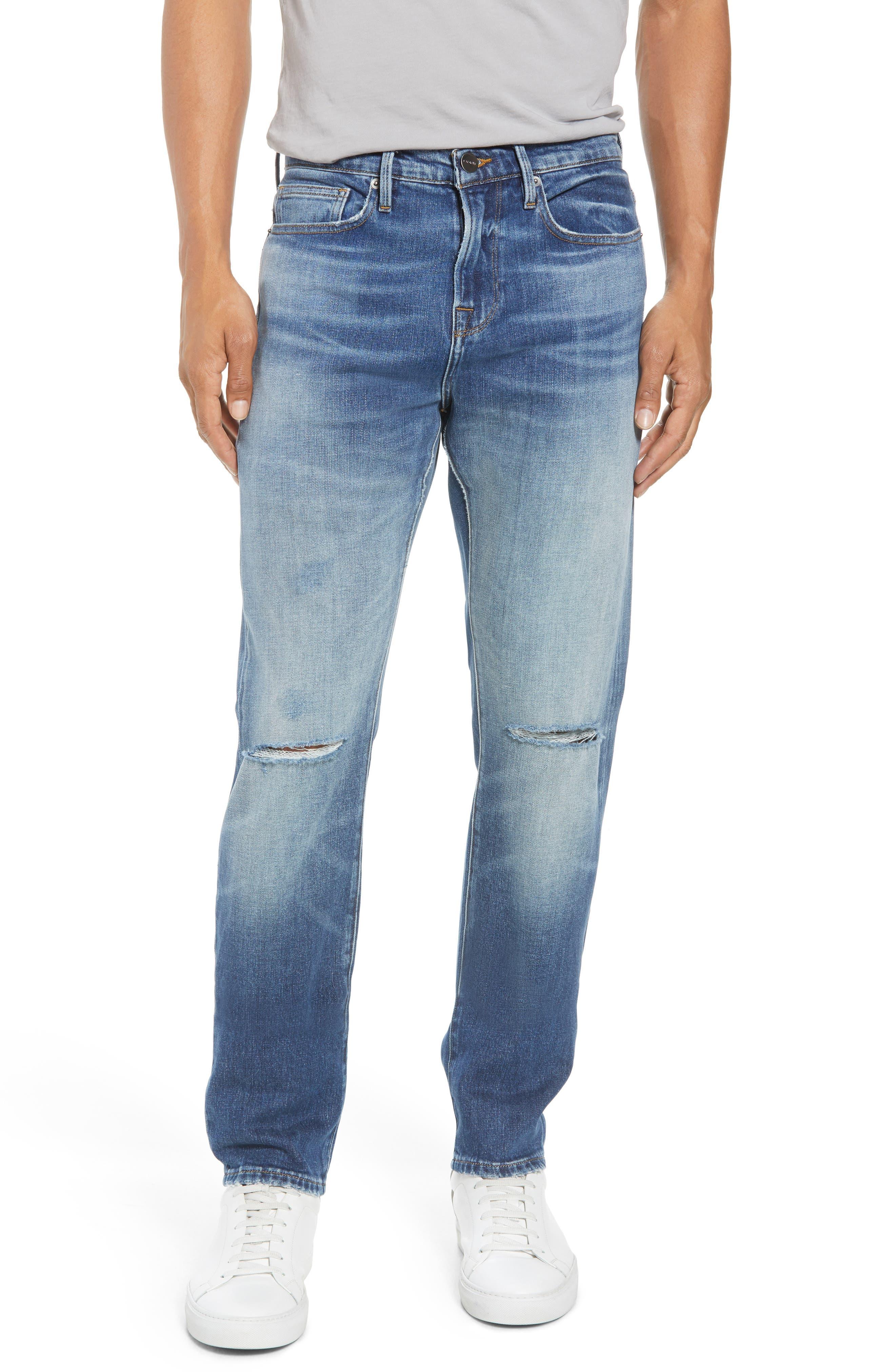 L'Homme Slim Fit Jeans,                             Main thumbnail 1, color,                             Yucca