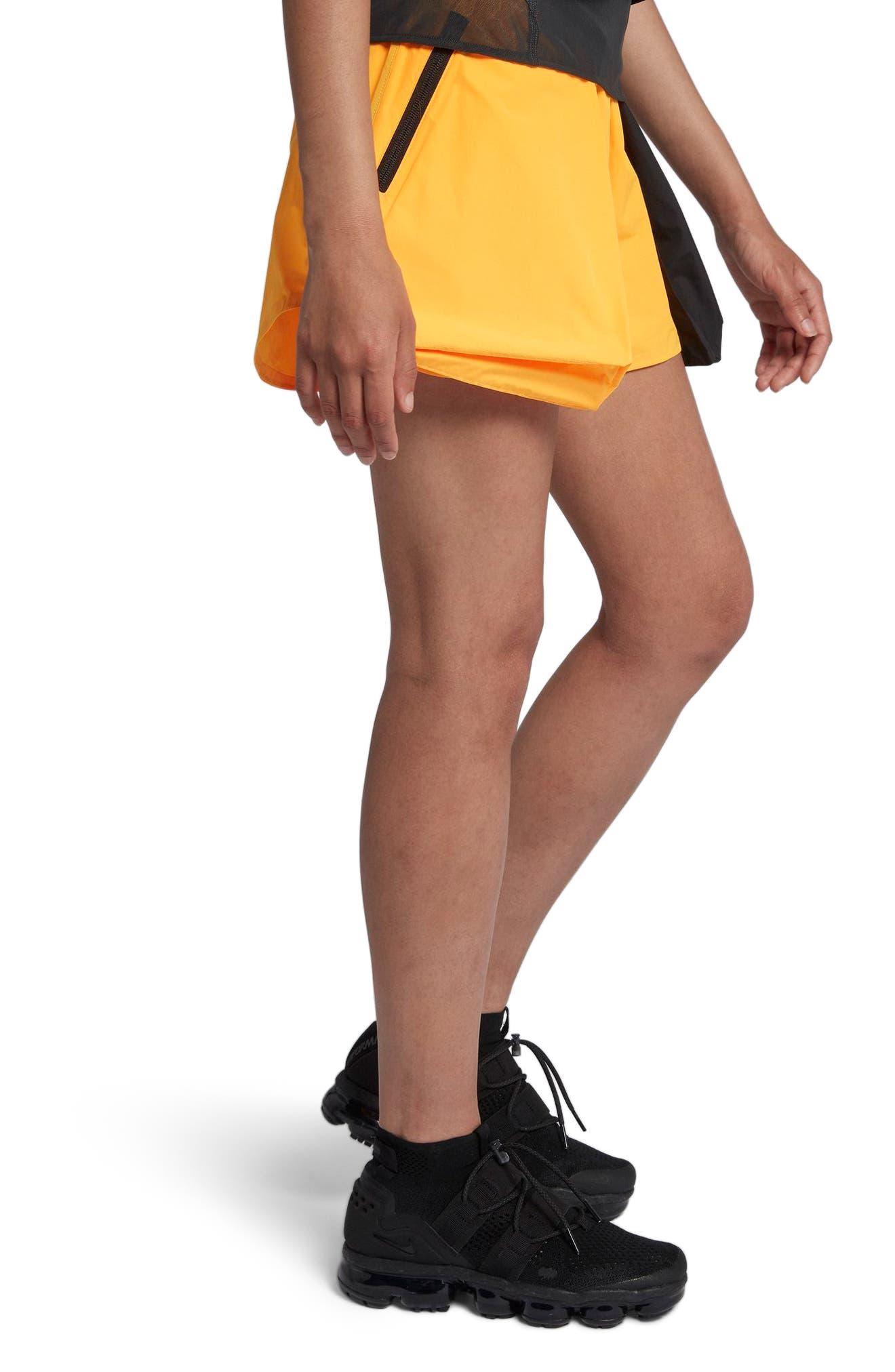 NikeLab ACG Women's Cargo Shorts.,                             Alternate thumbnail 3, color,                             Laser Orange/ Vast Grey
