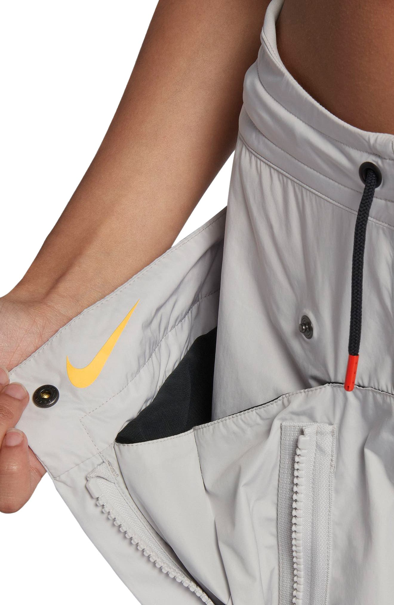 NikeLab ACG Women's Cargo Pants,                             Alternate thumbnail 8, color,                             Vast Grey