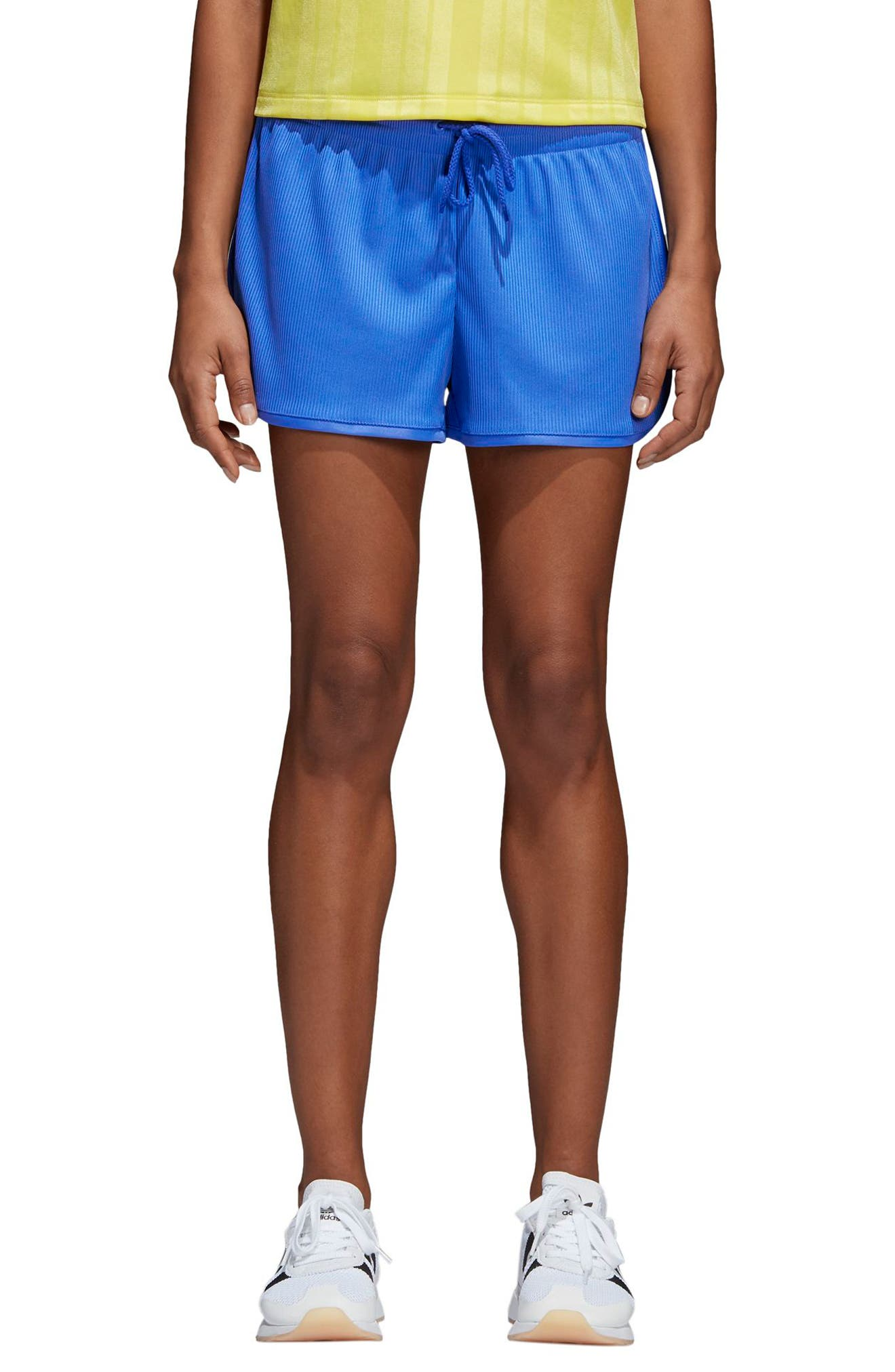 Originals Fashion League Shorts,                             Main thumbnail 1, color,                             Hi-Res Blue