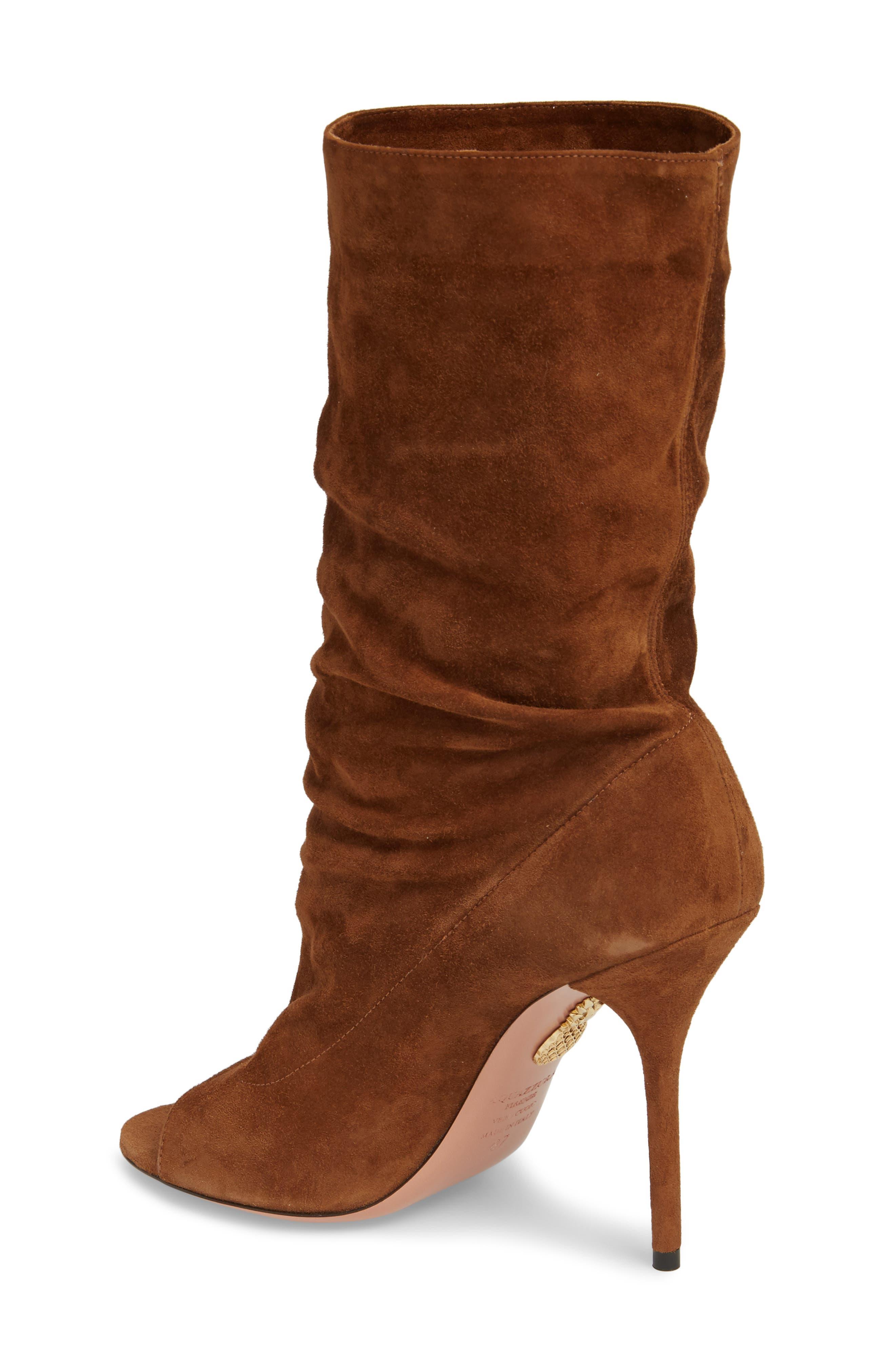 Alternate Image 2  - Aquazzura Touché Open Toe Boot (Women)