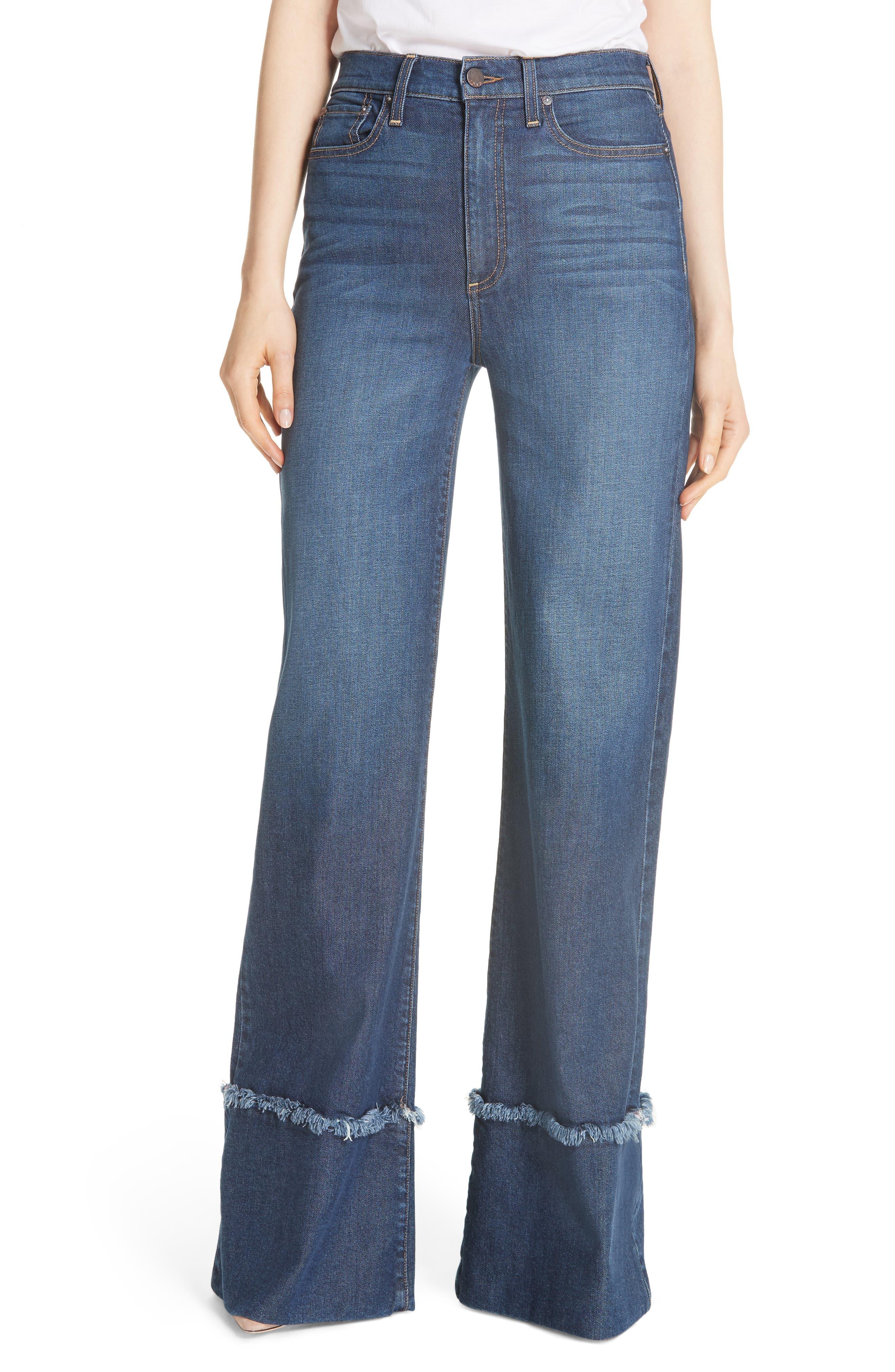 Gorgeous Flare Leg Jeans,                             Main thumbnail 1, color,                             So Clever