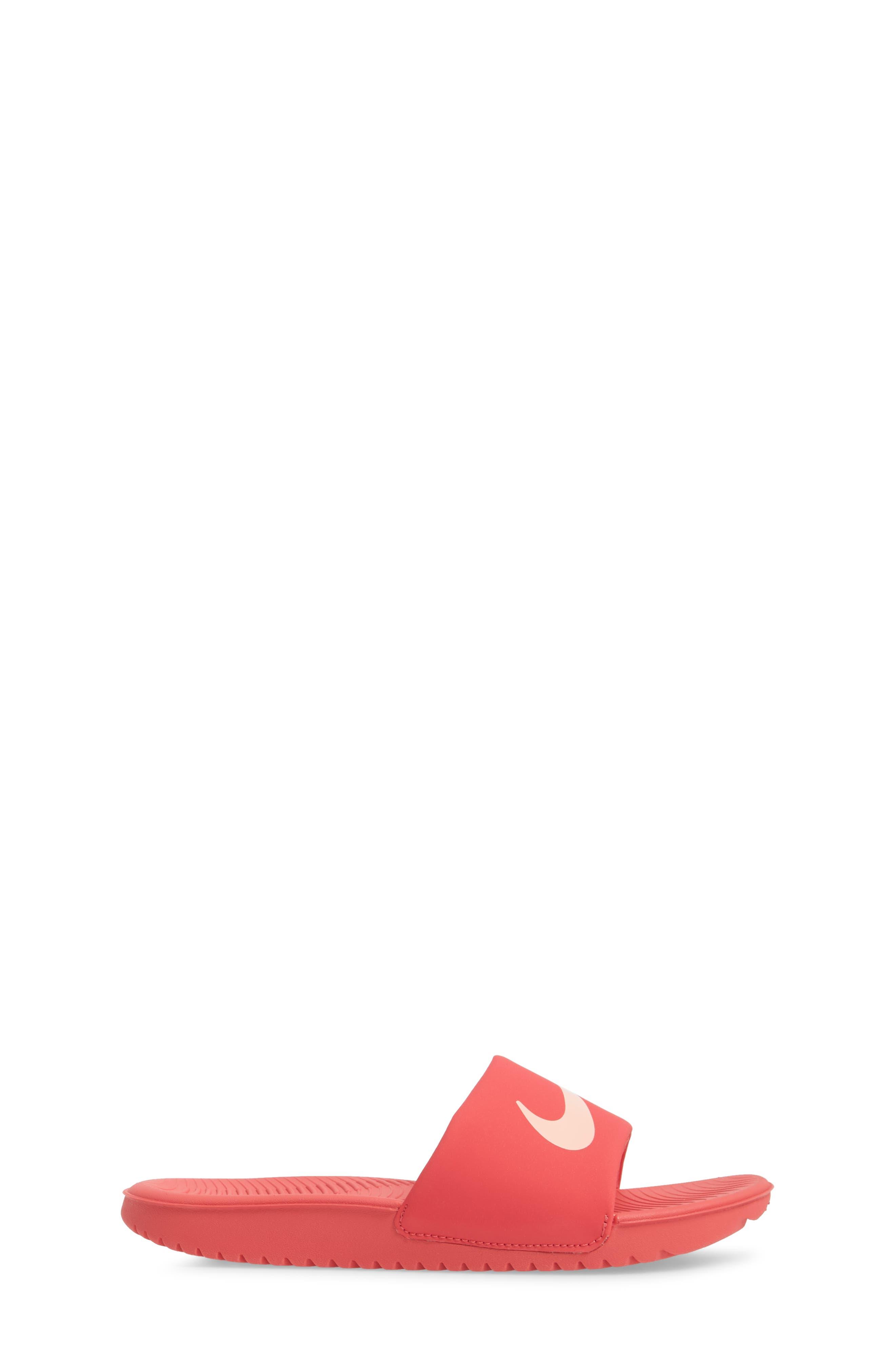 'Kawa' Slide Sandal,                             Alternate thumbnail 3, color,                             Tropical Pink/ Bleached Coral