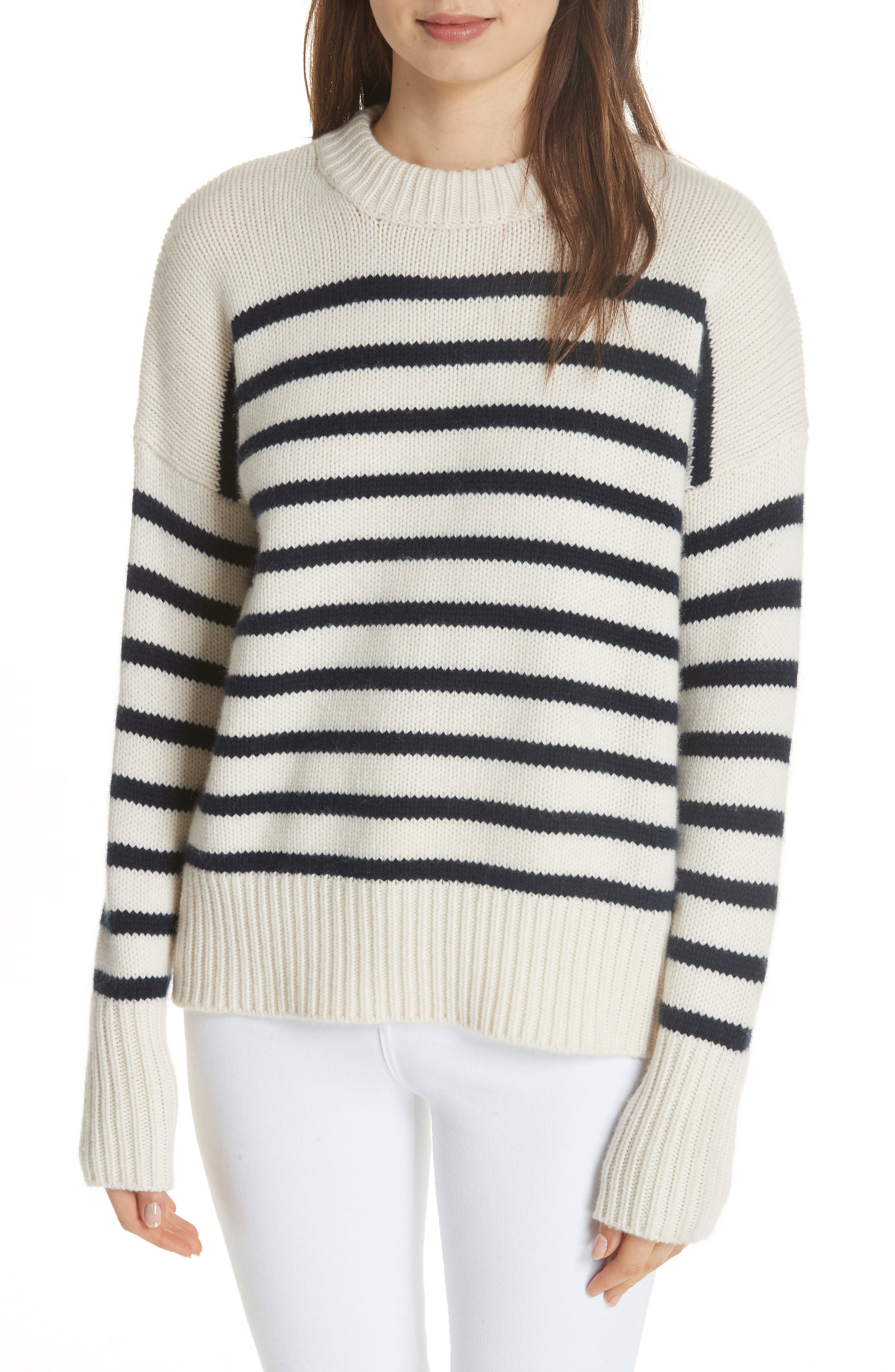 MARIN WOOL & CASHMERE SWEATER