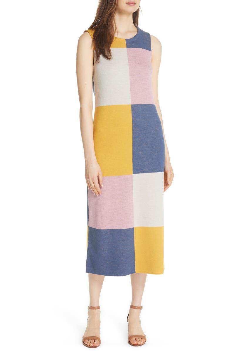 Clayton Sleeveless Merino Wool Midi Dress