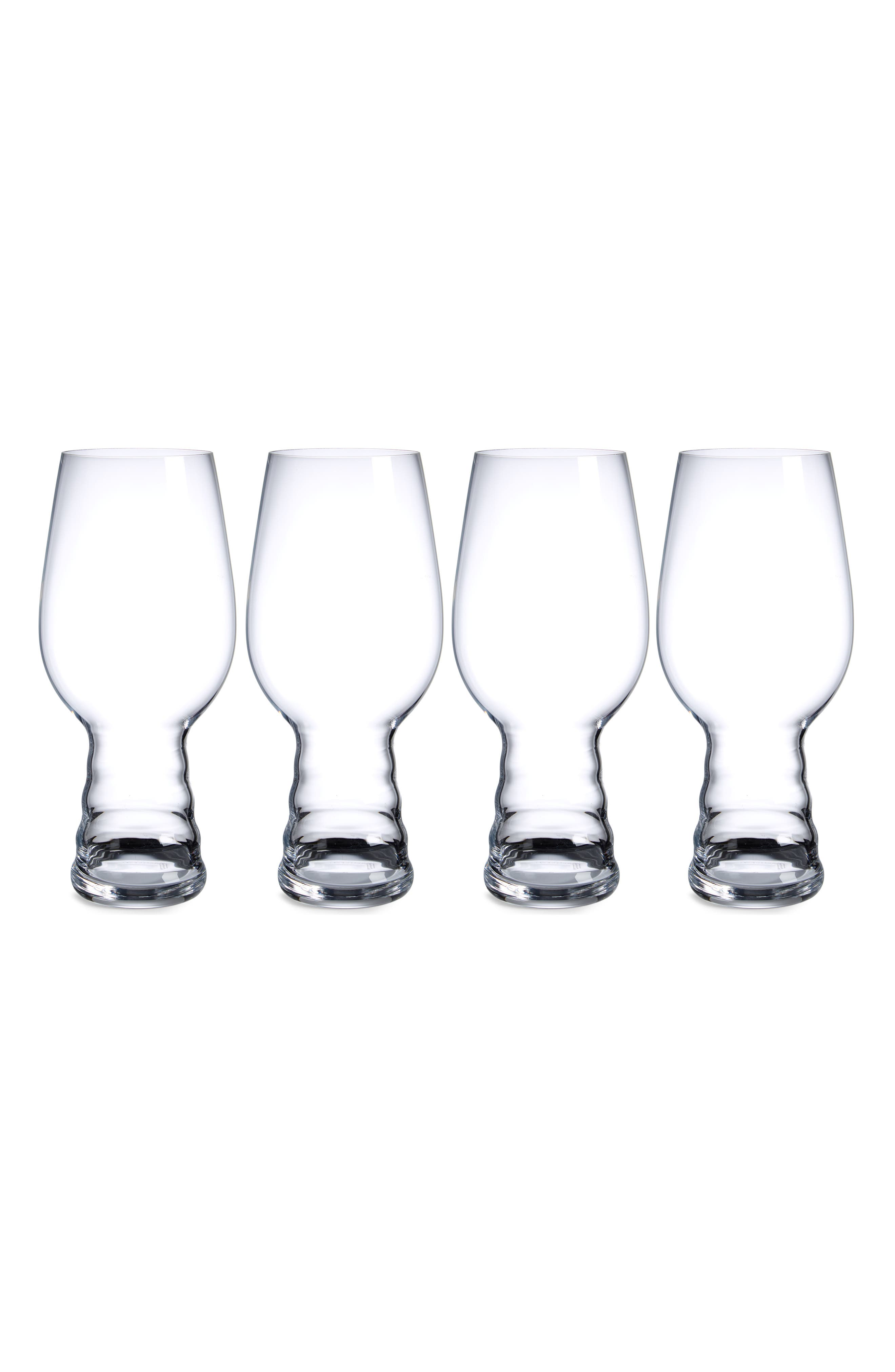 Set of 4 IPA Glasses,                         Main,                         color, Clear