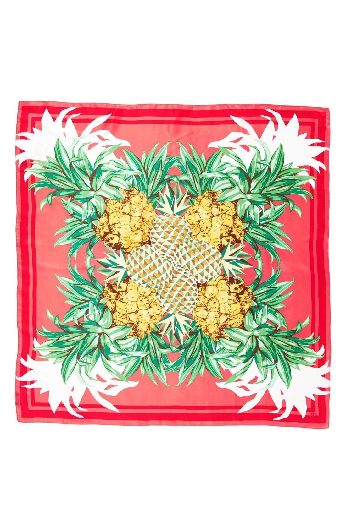 Alternate Image 2  - Echo 'Pineapple Party' Silk Scarf