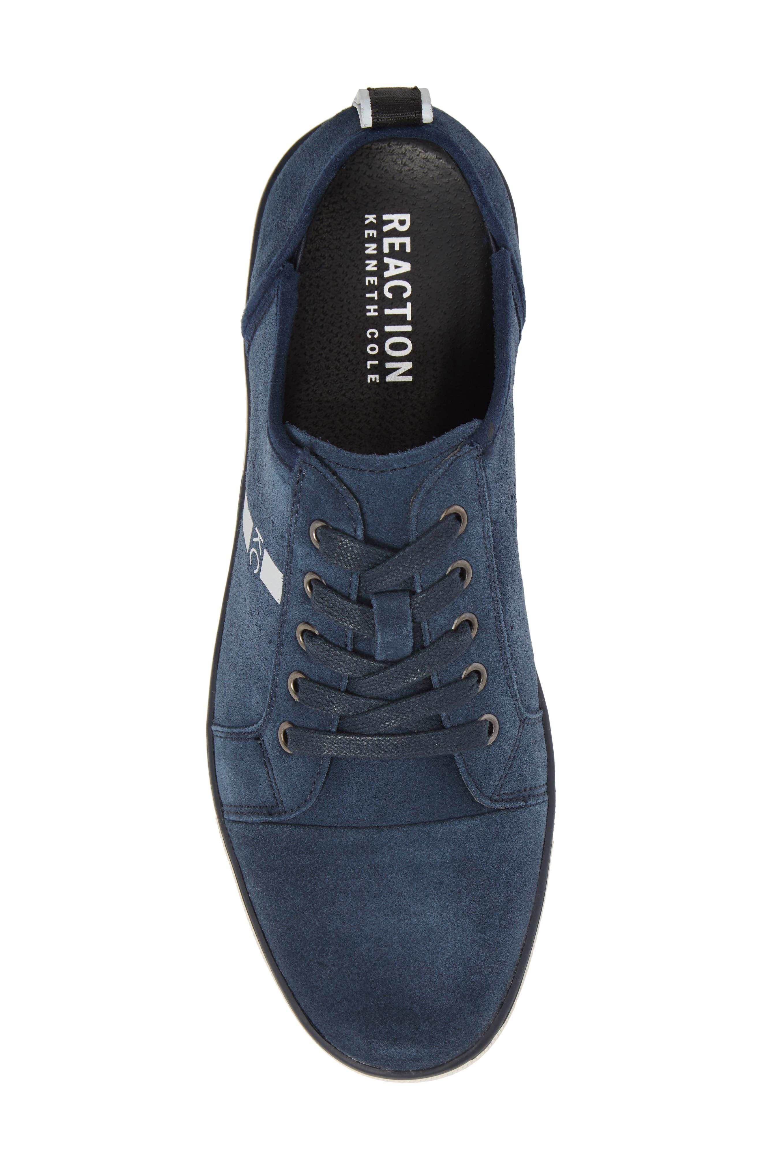 Center Low Sneaker,                             Alternate thumbnail 5, color,                             Navy