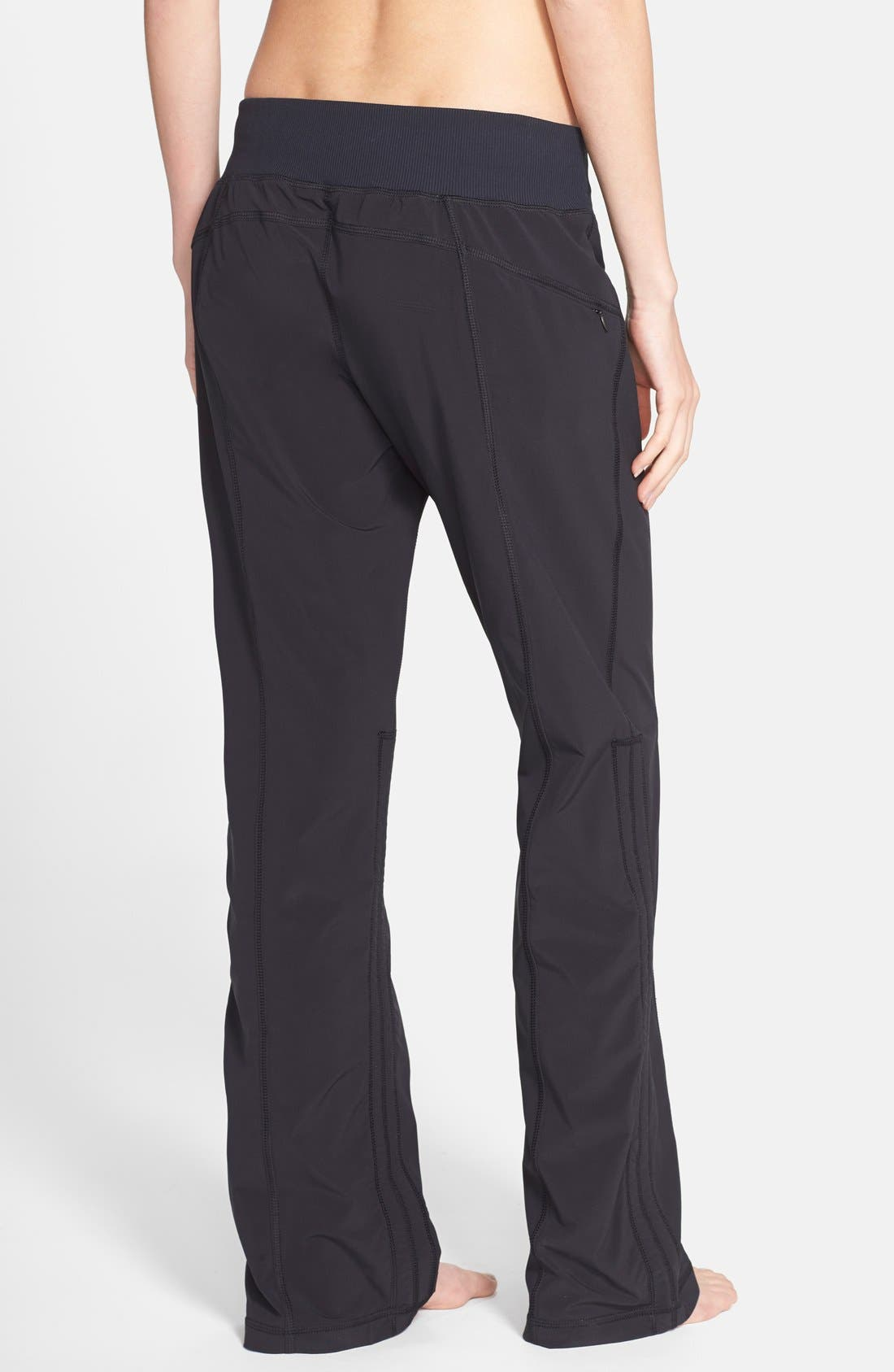 'Work It' Pants,                             Alternate thumbnail 2, color,                             Black