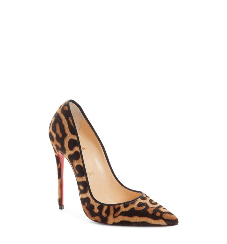 Christian Louboutin So Kate Genuine Calf Hair Pump | Nordstrom