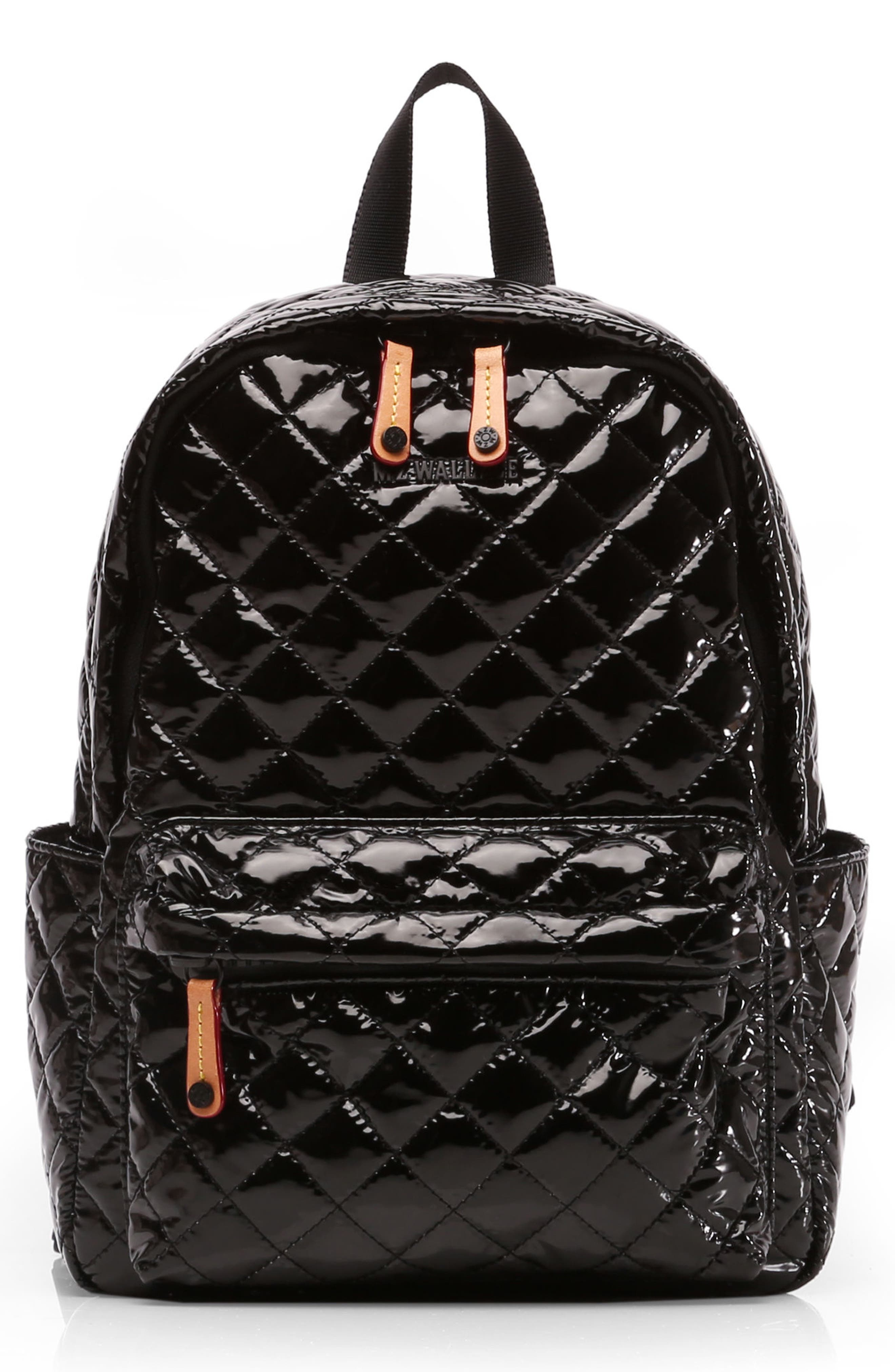 Small Metro Backpack,                         Main,                         color, Black Lacquer