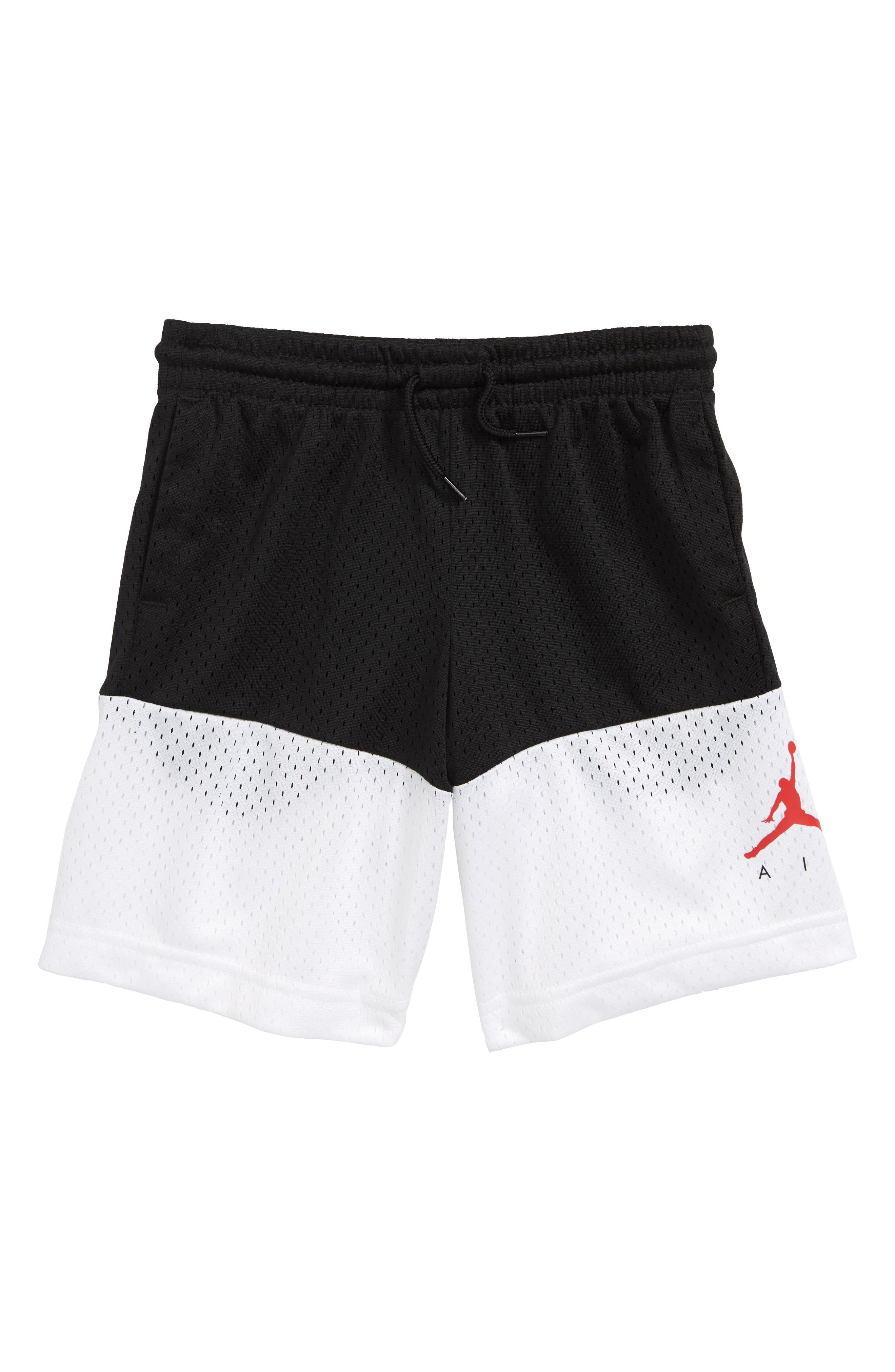 Jordan Jumpman Air Mesh Short,                         Main,                         color, Black