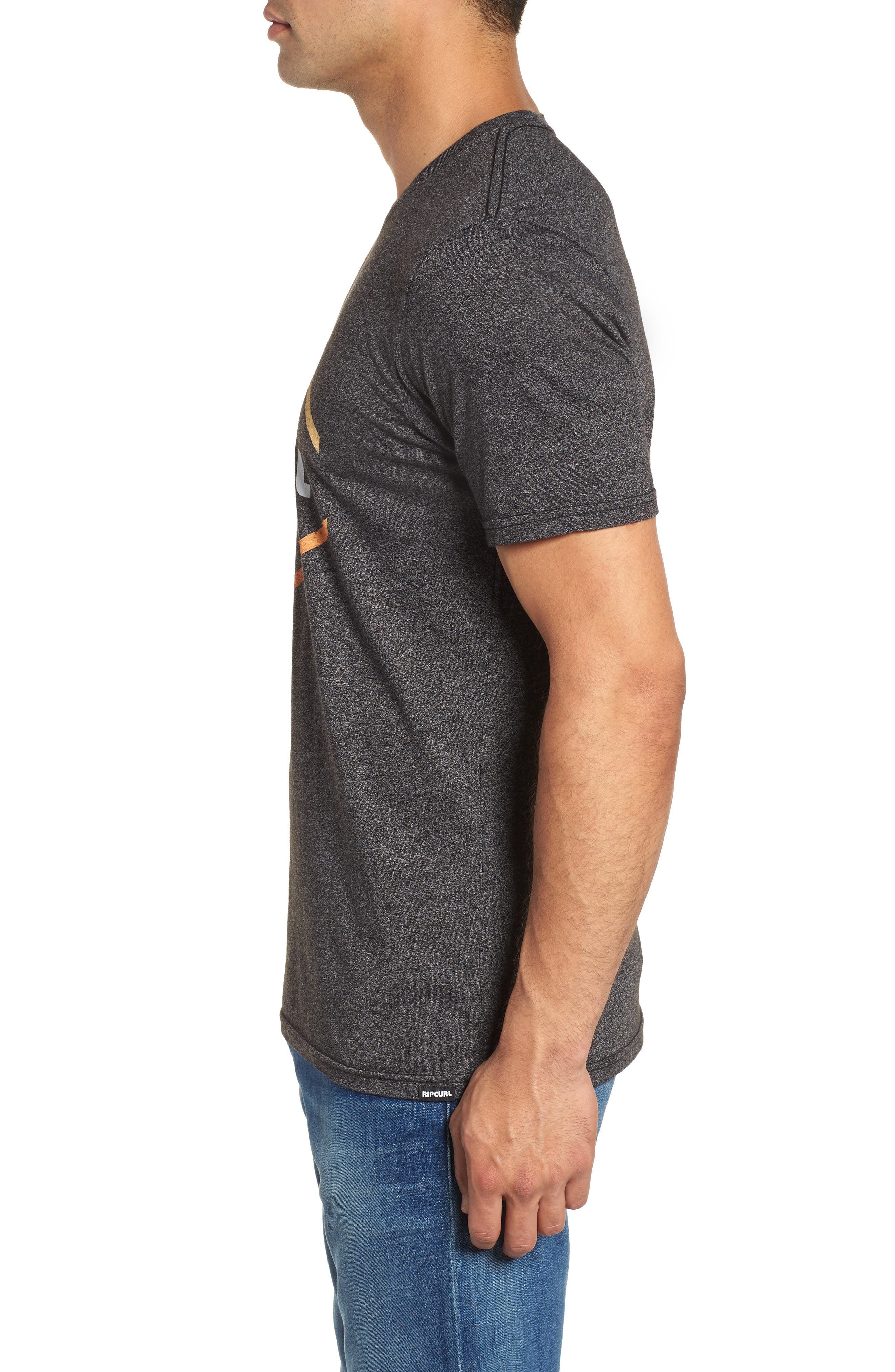 Stamp of Approval Graphic T-Shirt,                             Alternate thumbnail 3, color,                             Black