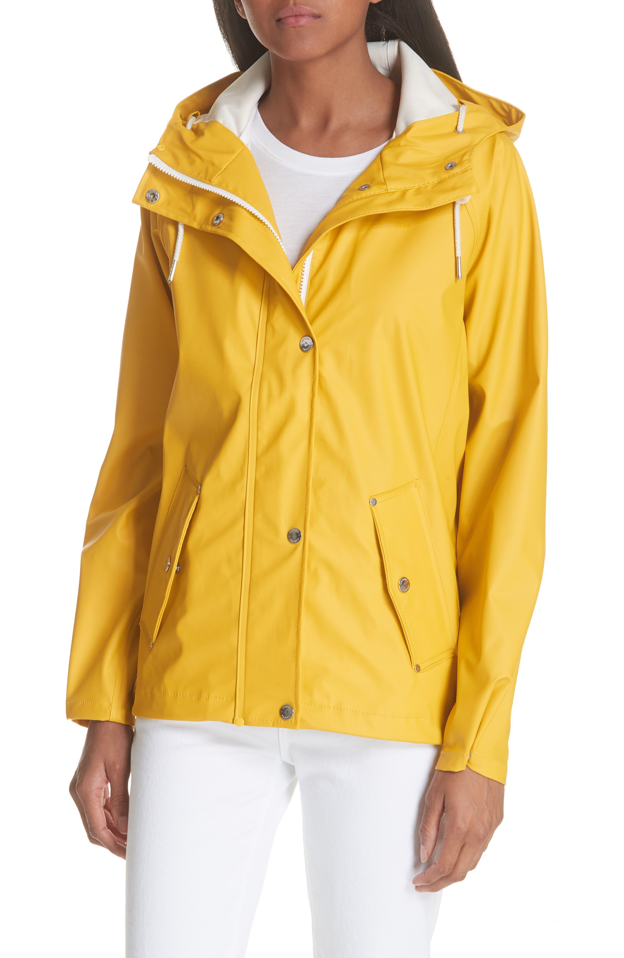 Erna Raincoat,                         Main,                         color, Aspen Gold