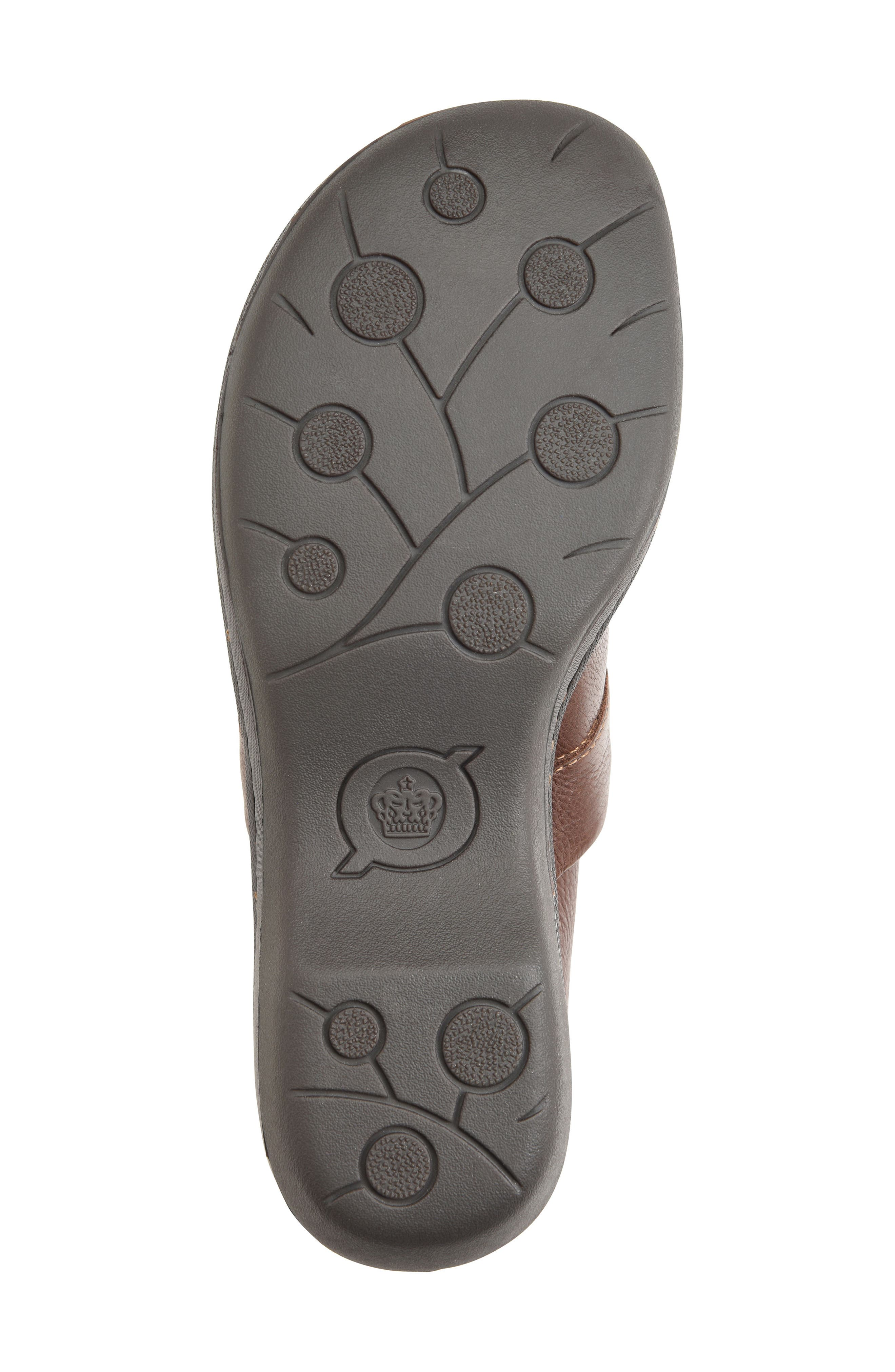Toby Duo Clog,                             Alternate thumbnail 6, color,                             Chocolate Leather