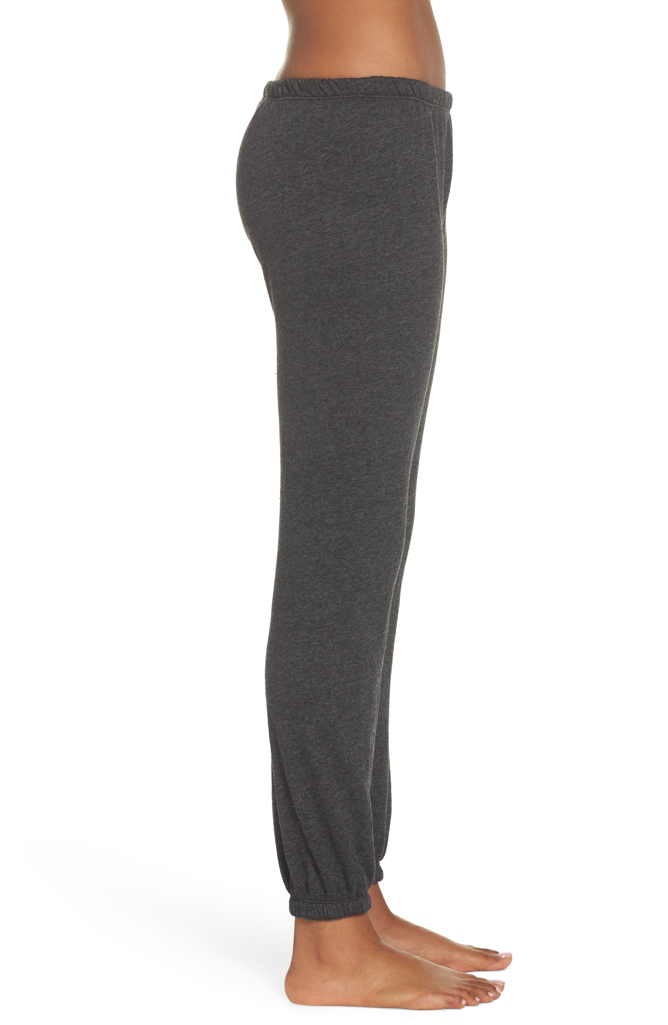 Grateful Perfect Knit Pants,                             Alternate thumbnail 6, color,                             Vntg Black