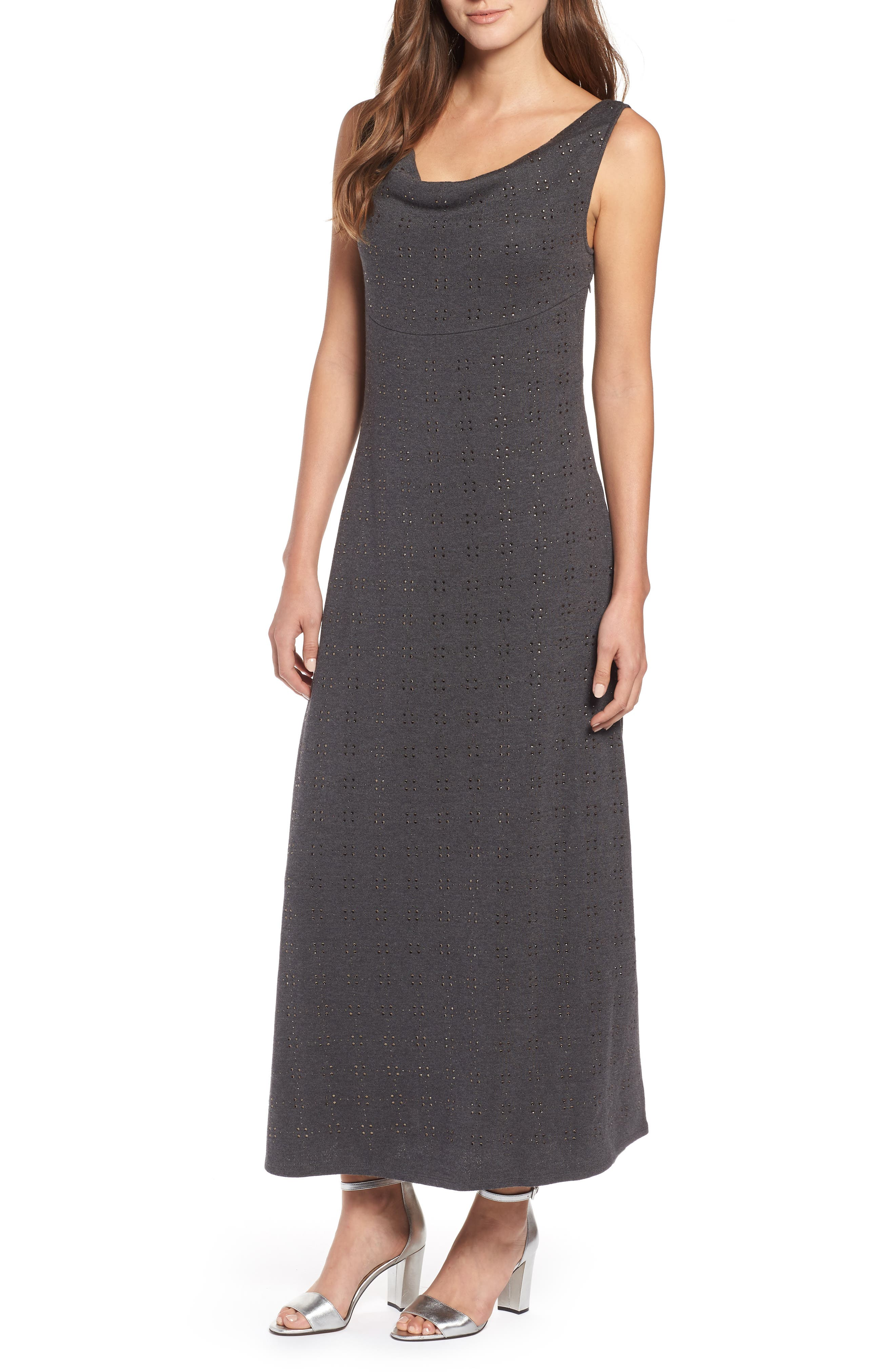 Subtle Shine Dress,                             Main thumbnail 1, color,                             Multi