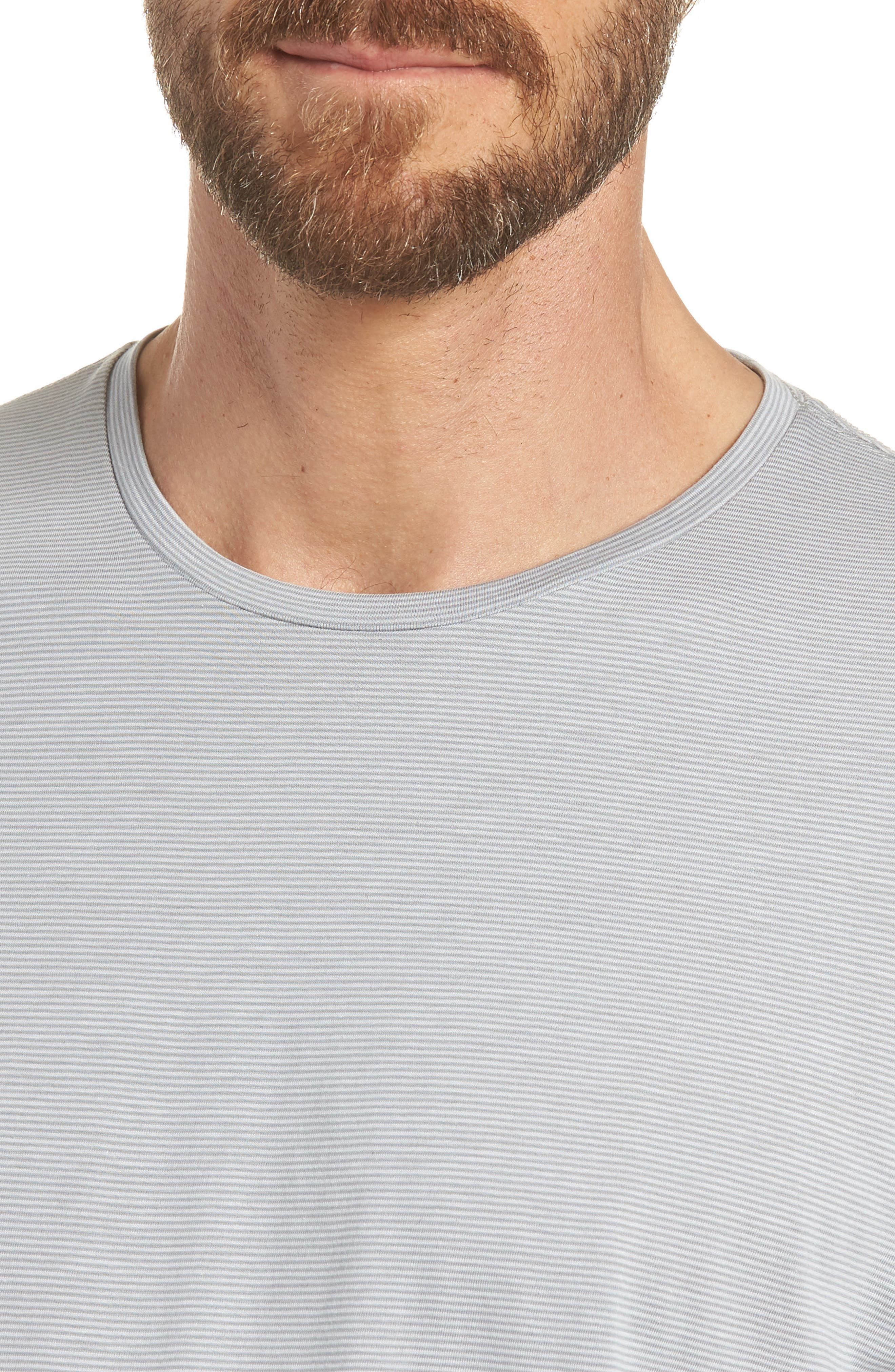 Refined Slim Fit T-Shirt,                             Alternate thumbnail 4, color,                             Echo Sterling