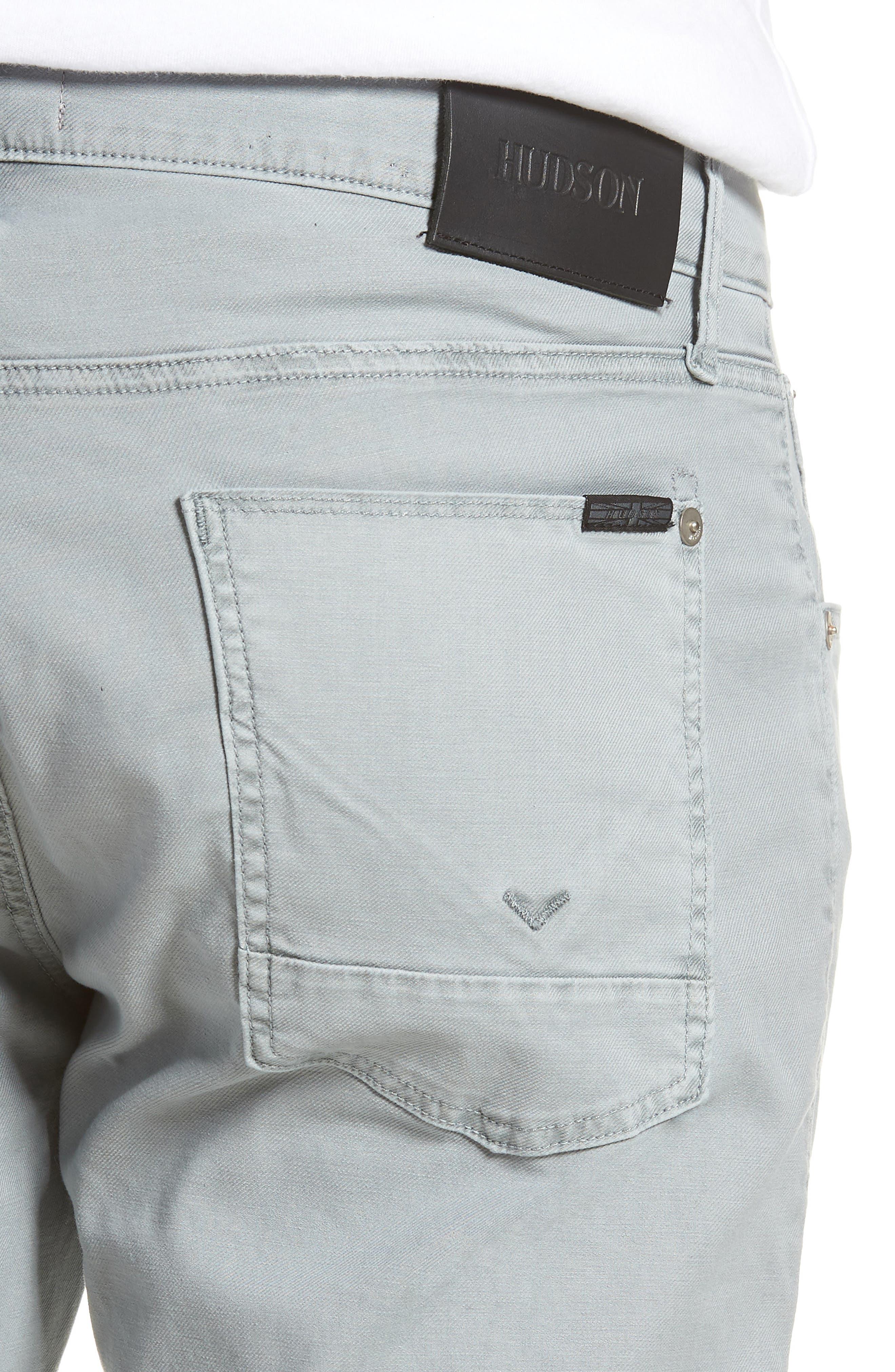 Blake Slim Fit Jeans,                             Alternate thumbnail 4, color,                             Steel Blue