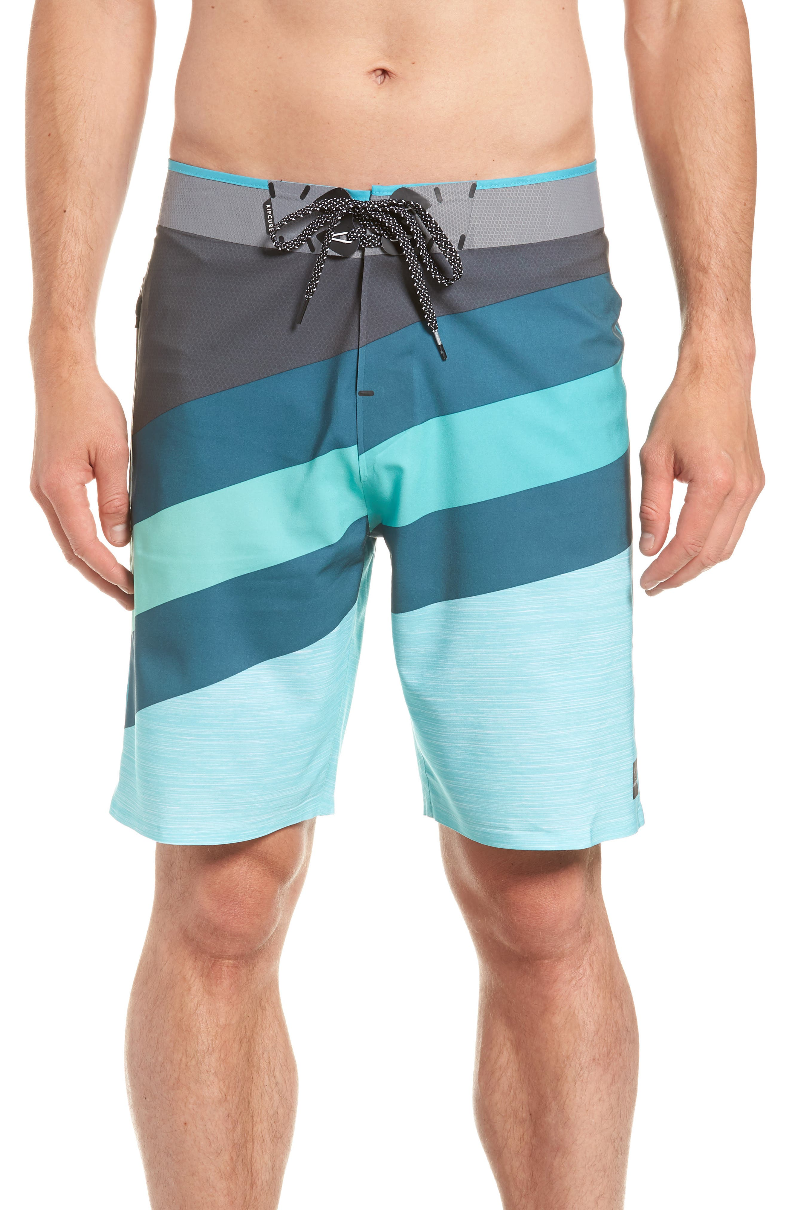 Mirage React Ultimate Board Short,                         Main,                         color, Teal