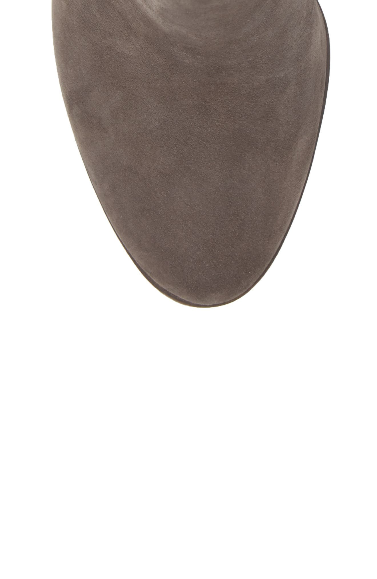 Finchie Bootie,                             Alternate thumbnail 5, color,                             Greystone Leather
