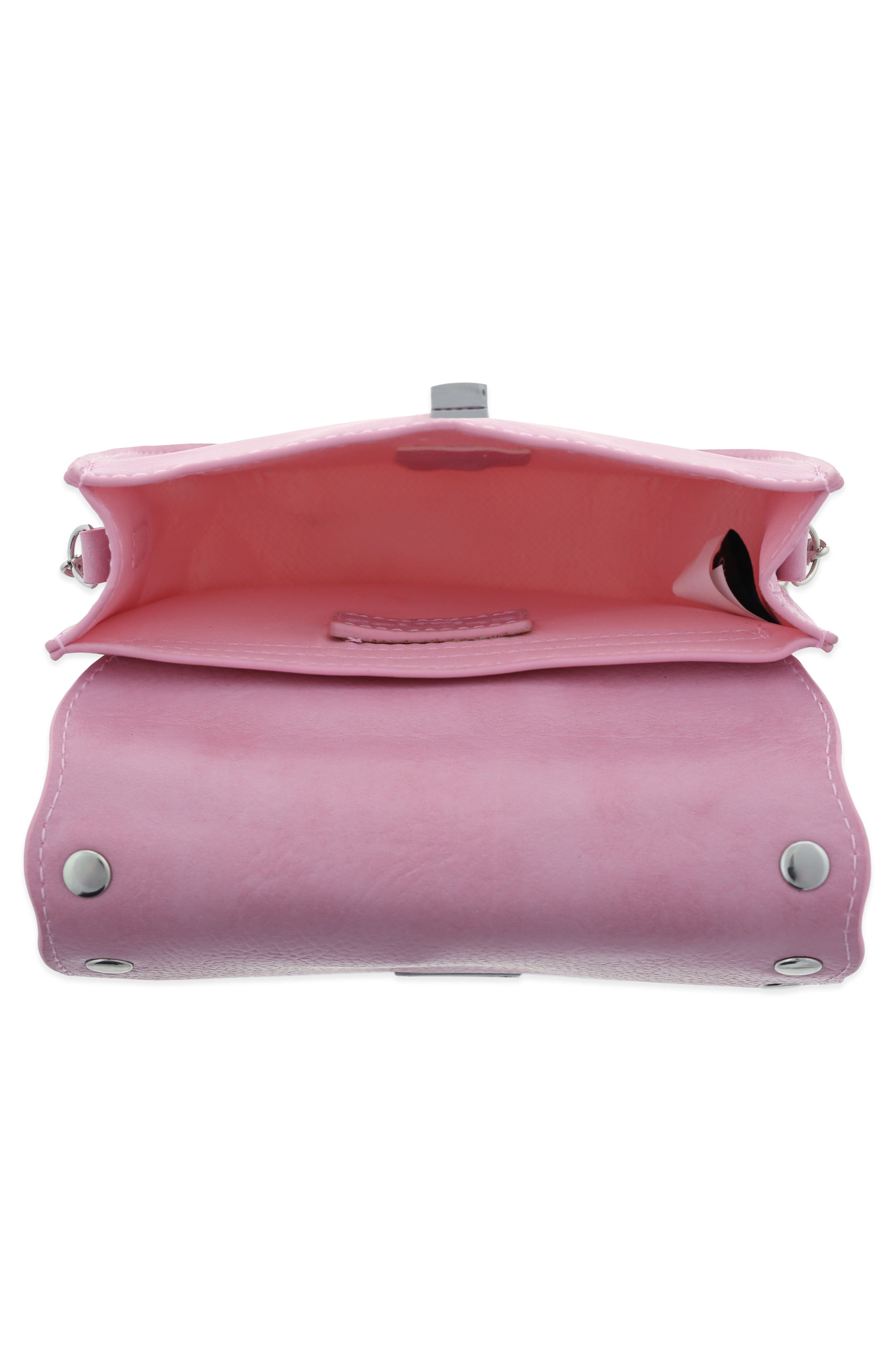 Studded Bag,                             Alternate thumbnail 3, color,                             Pink Combo
