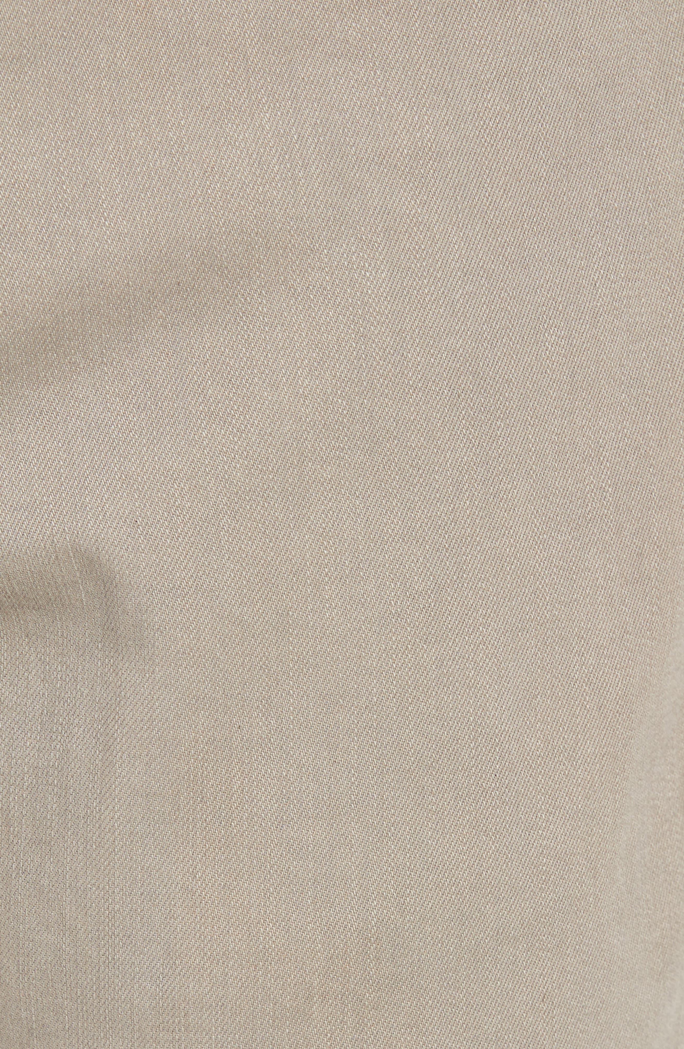 Jimmy Slim Straight Leg Jeans,                             Alternate thumbnail 5, color,                             Khaki